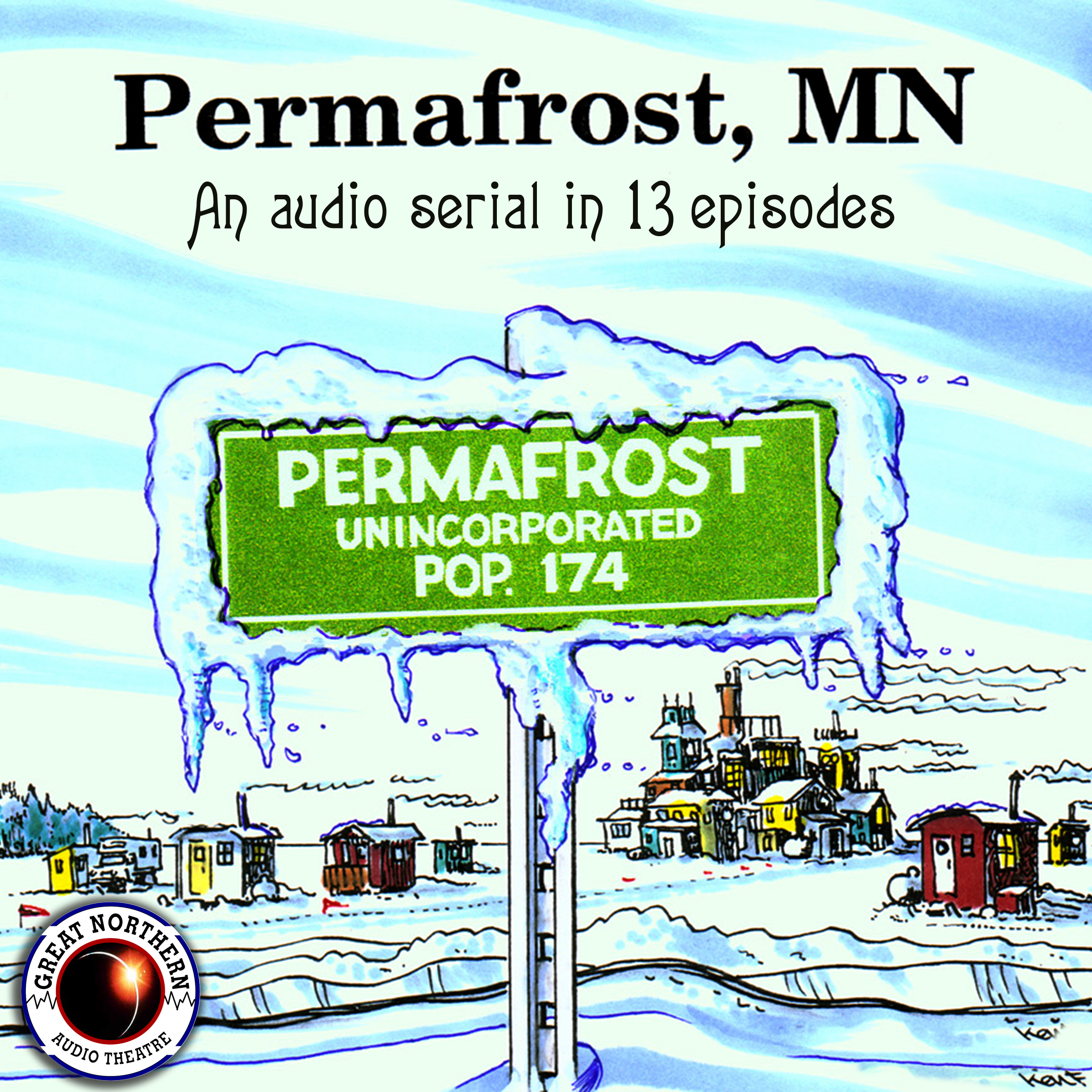 Printable Permafrost, MN Audiobook Cover Art