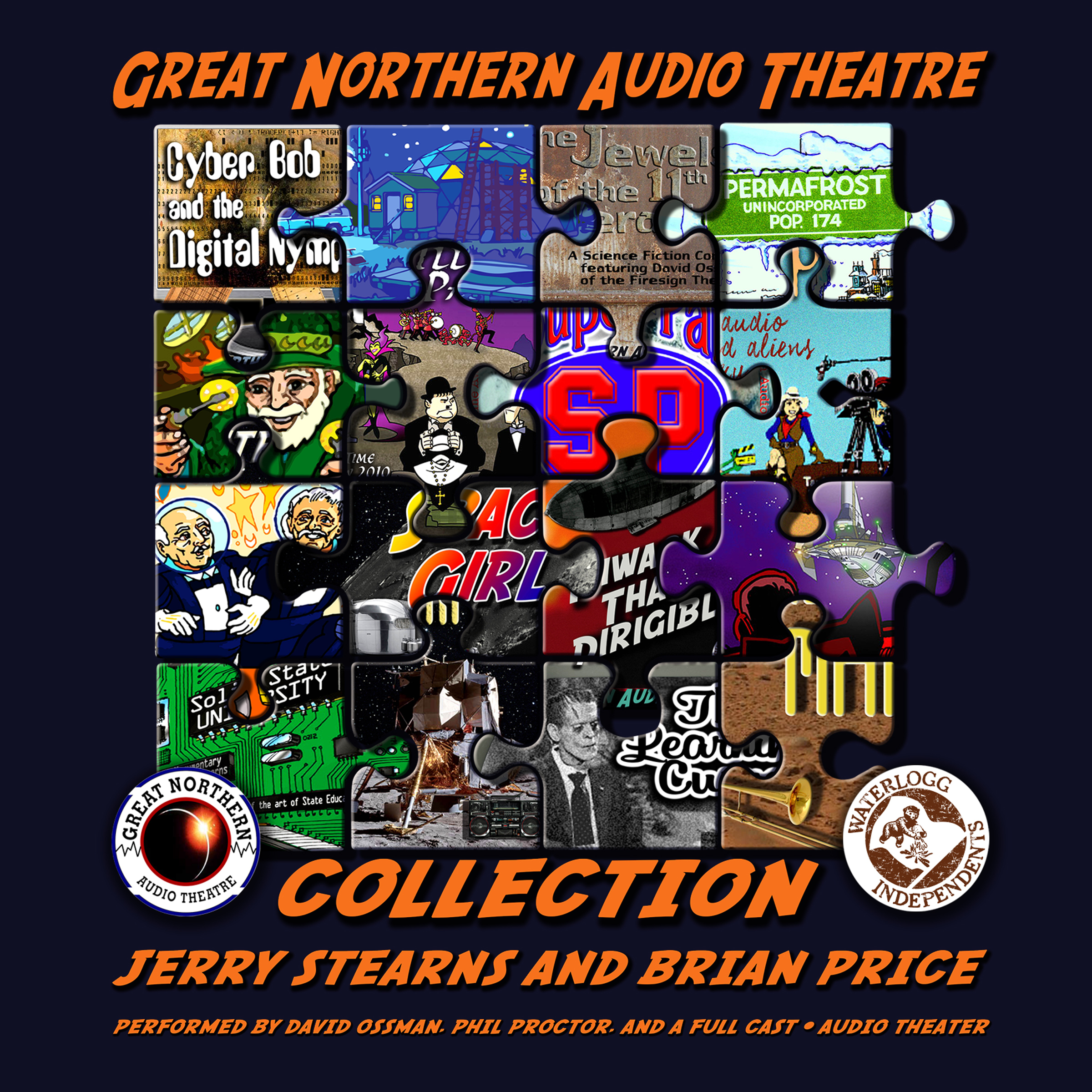 Printable The Great Northern Audio Theatre Collection Audiobook Cover Art