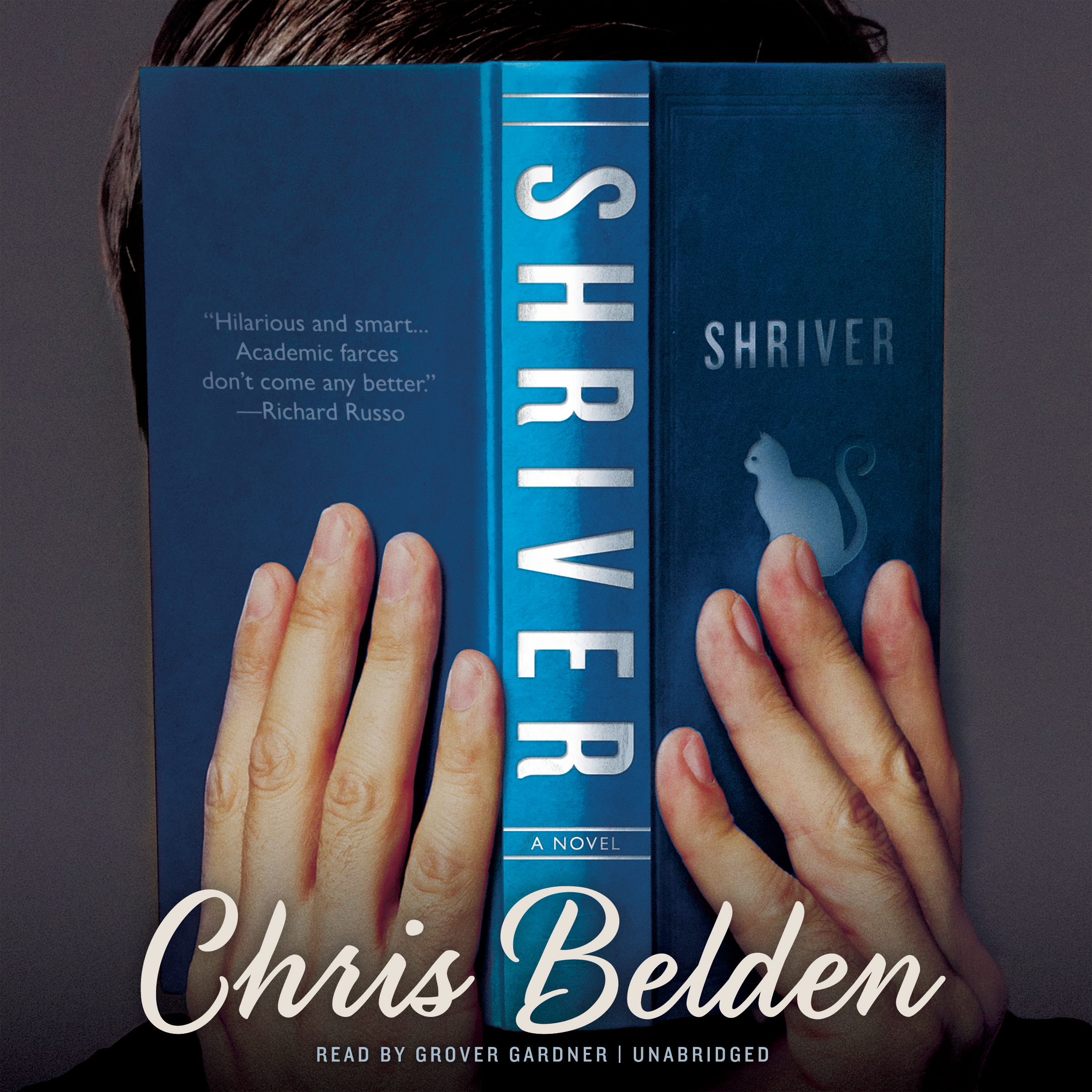 Printable Shriver: A Novel Audiobook Cover Art