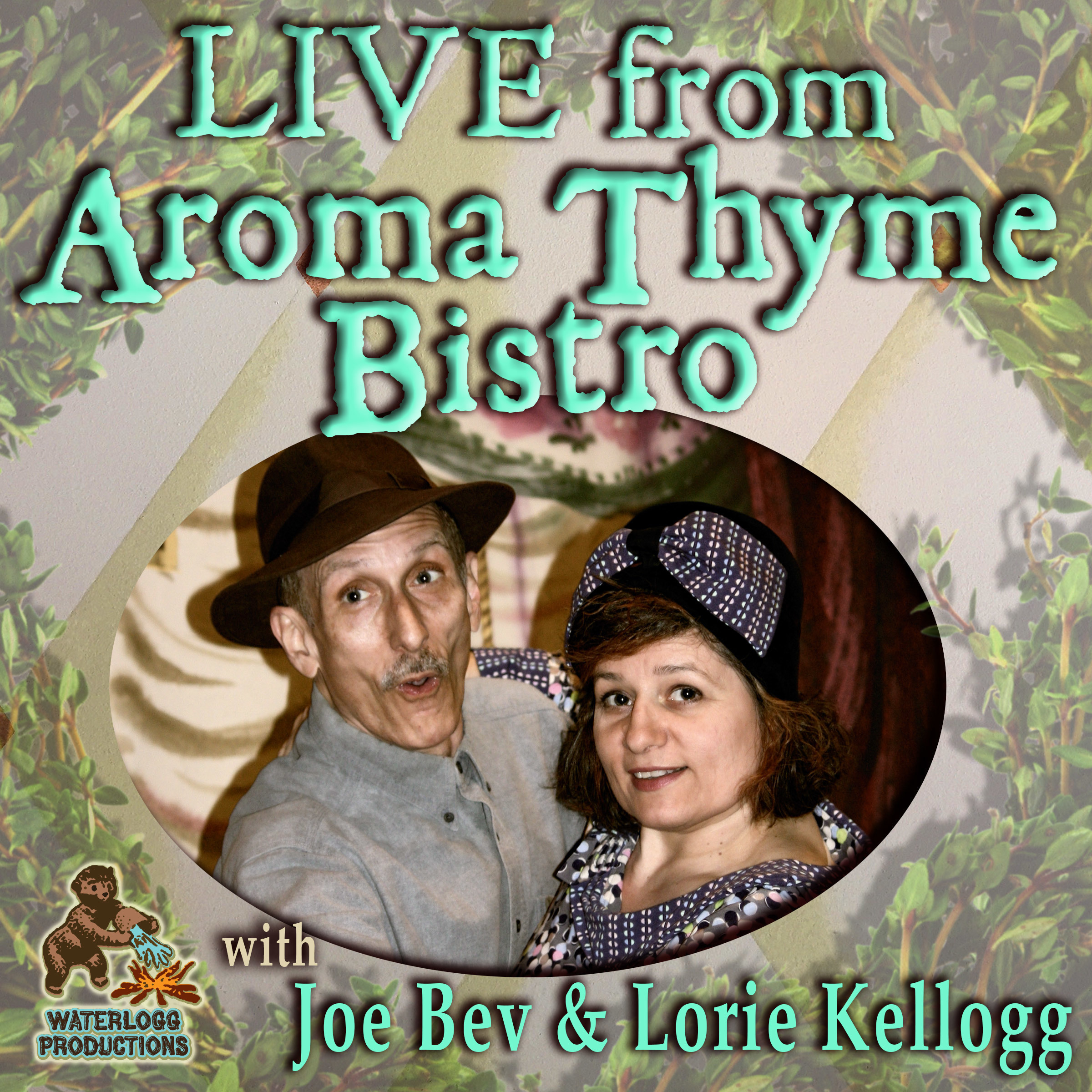 Printable Live from Aroma Thyme Bistro: A Magical Musical Night Audiobook Cover Art