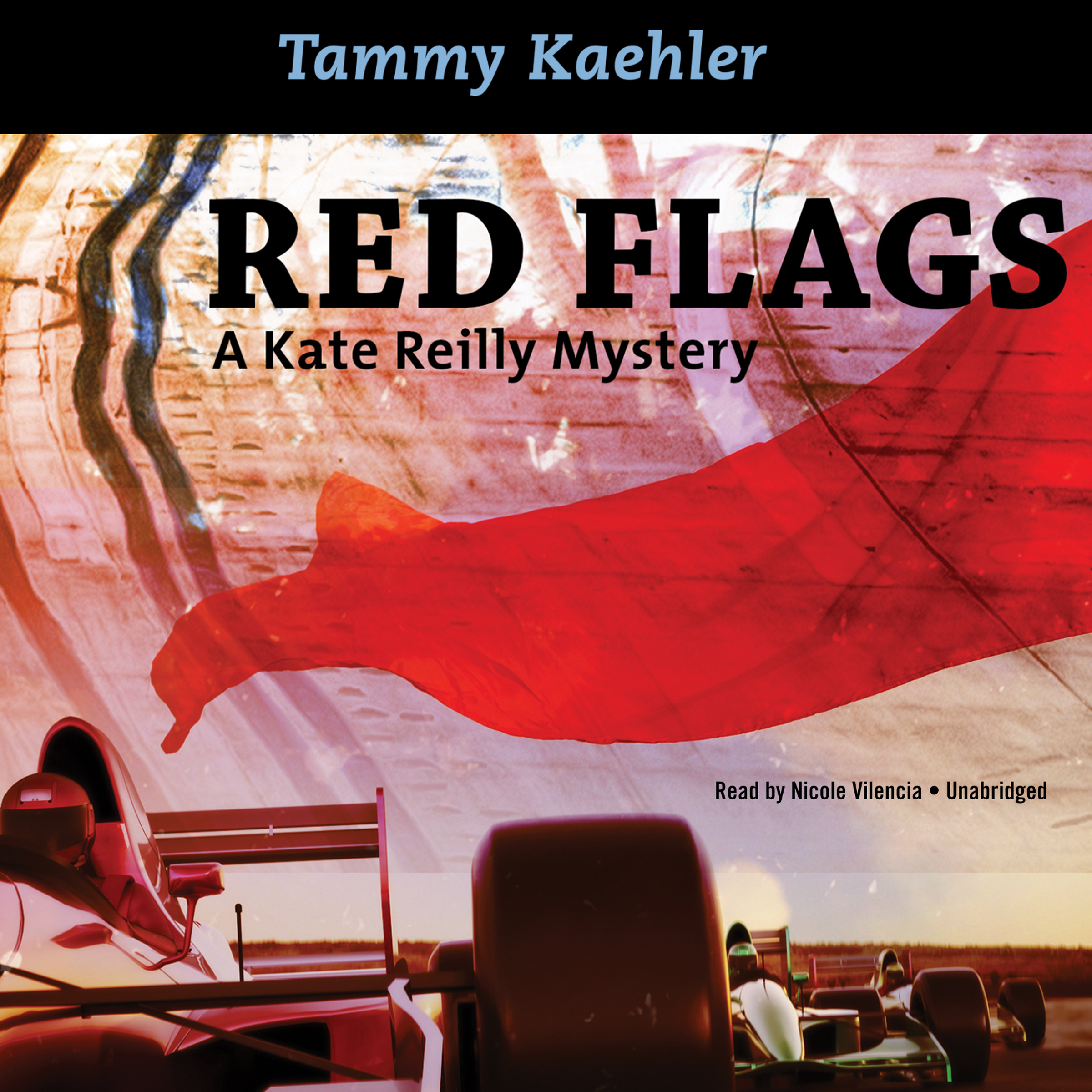 Printable Red Flags: A Kate Reilly Mystery Audiobook Cover Art