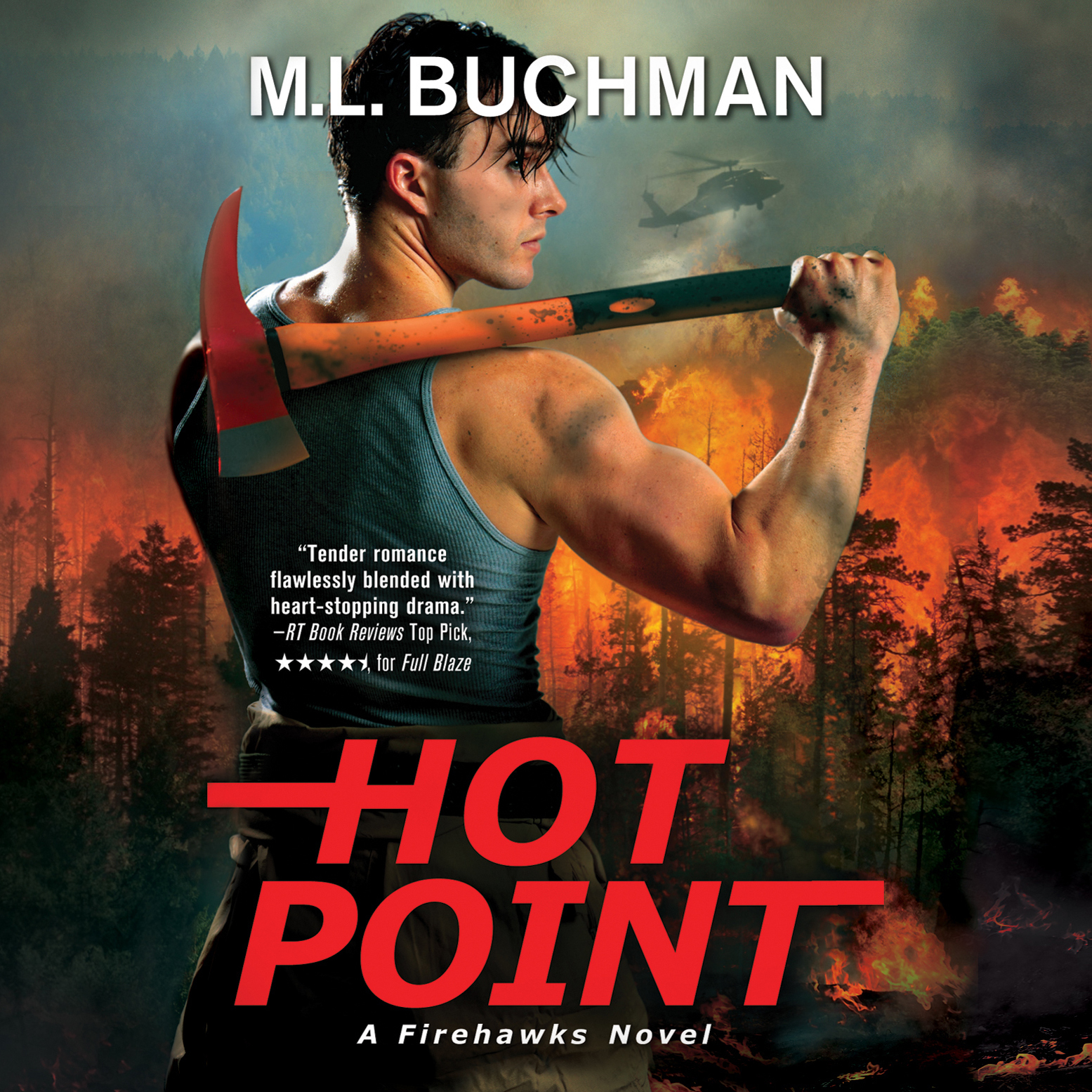 Printable Hot Point: A Firehawks Novel Audiobook Cover Art
