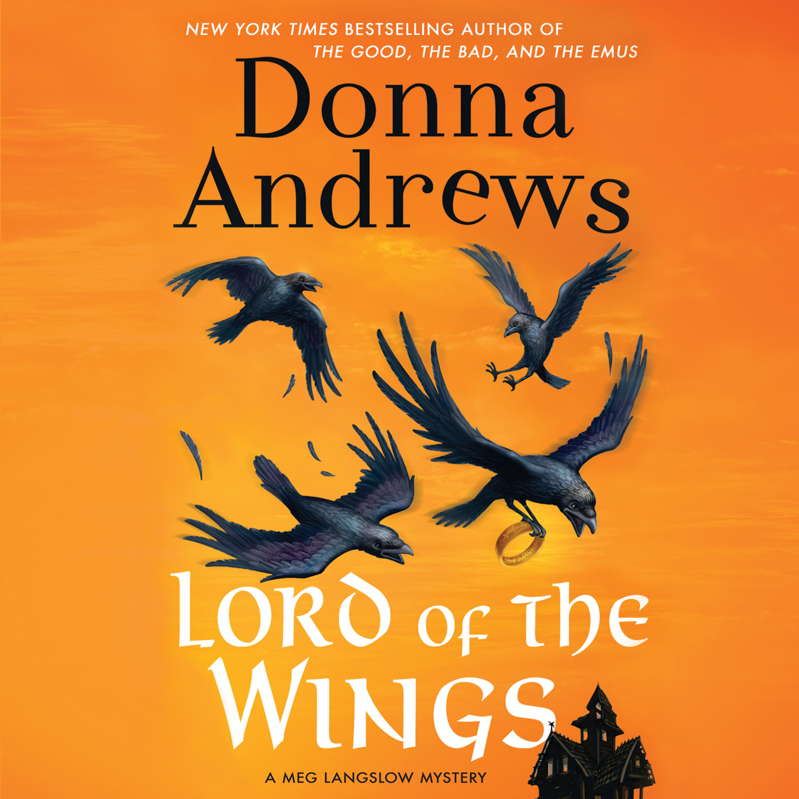 Printable Lord of the Wings Audiobook Cover Art
