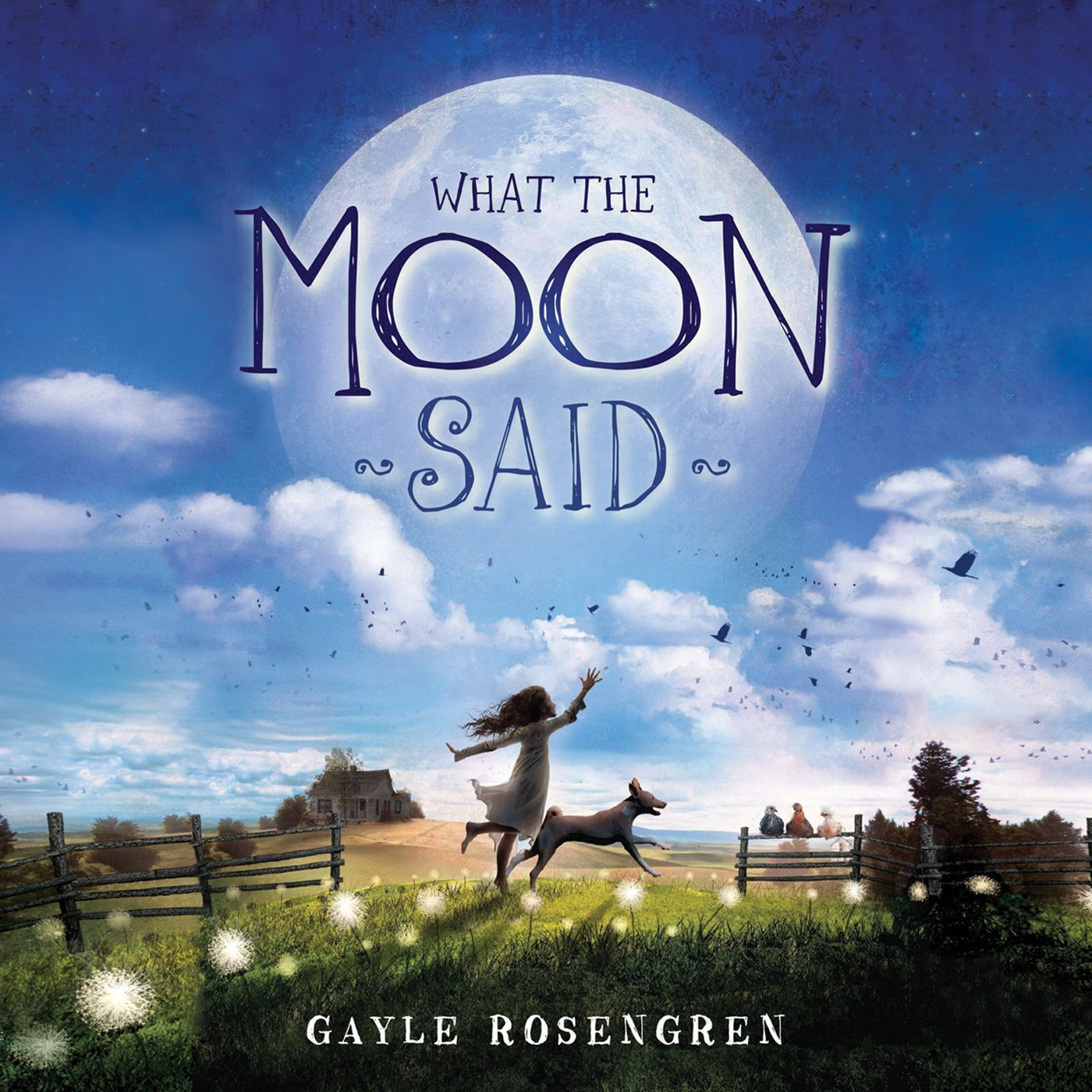 Printable What the Moon Said Audiobook Cover Art