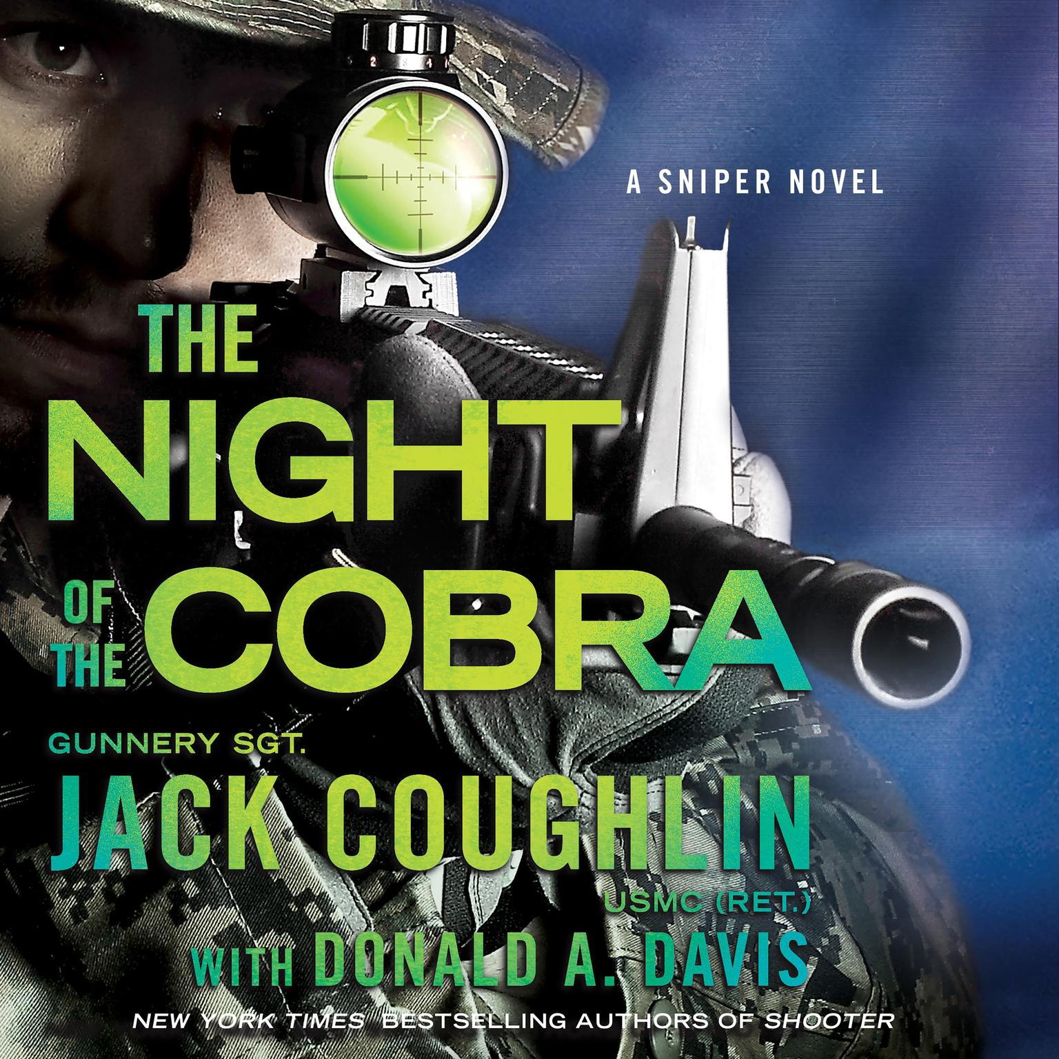 Printable Night of the Cobra: A Sniper Novel Audiobook Cover Art