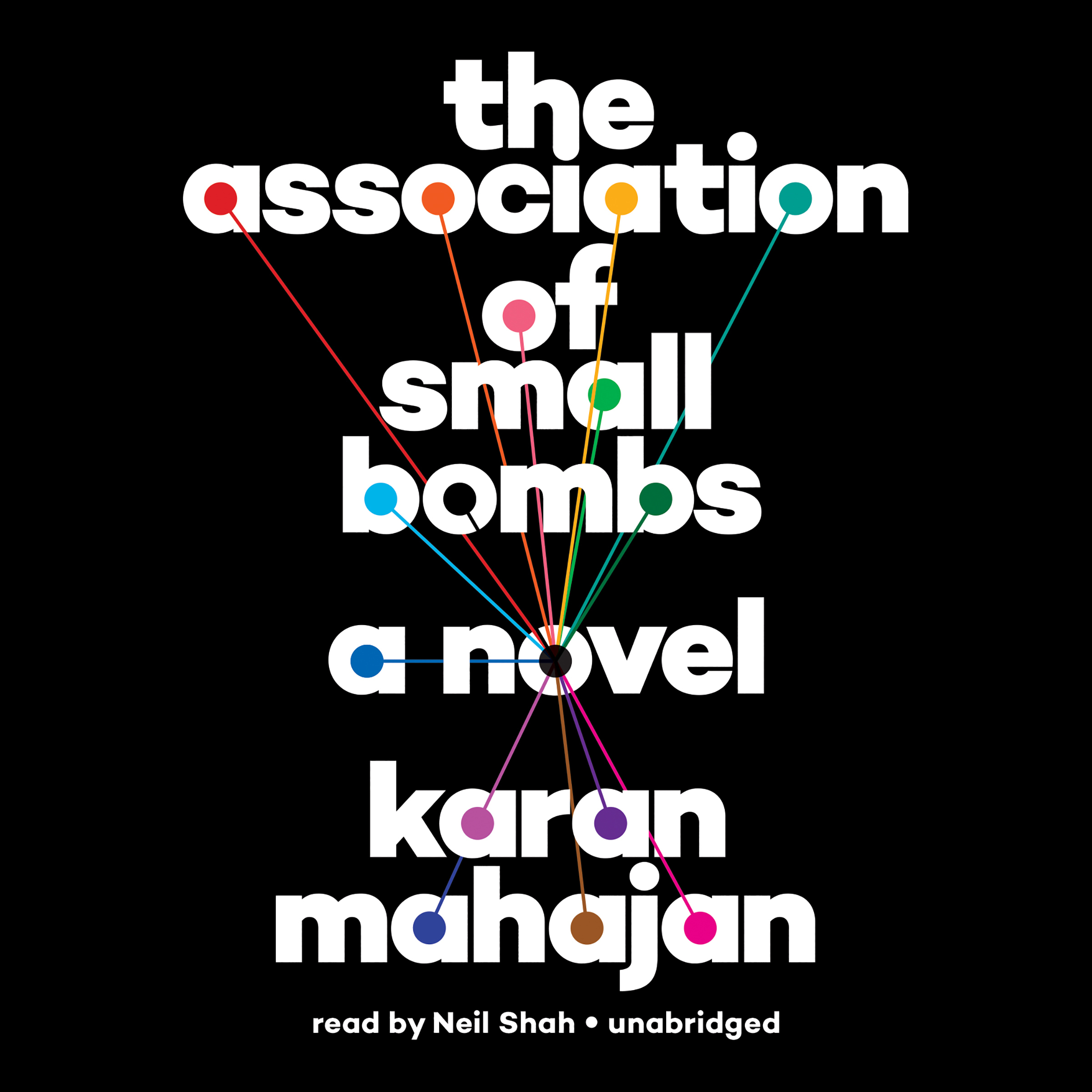 Printable The Association of Small Bombs Audiobook Cover Art