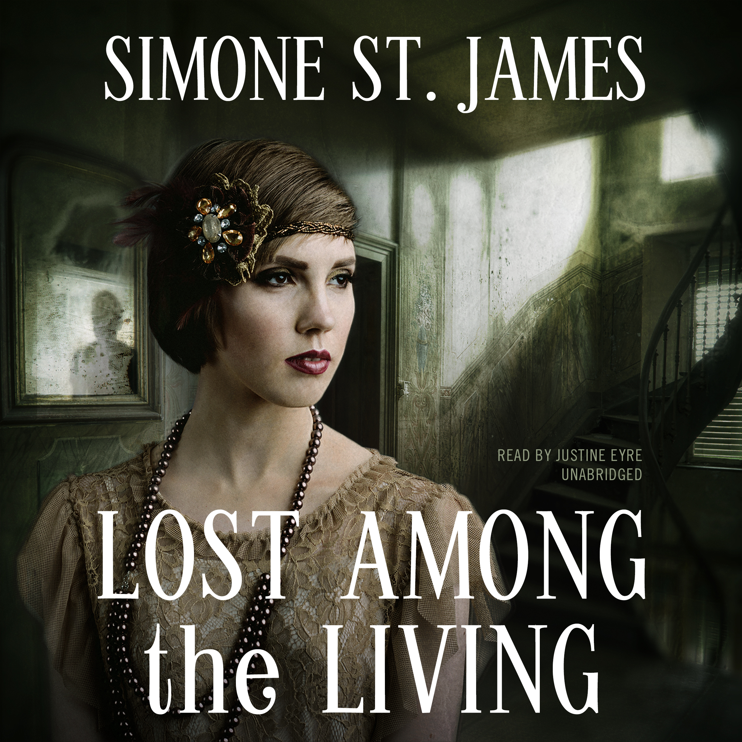 Printable Lost among the Living Audiobook Cover Art