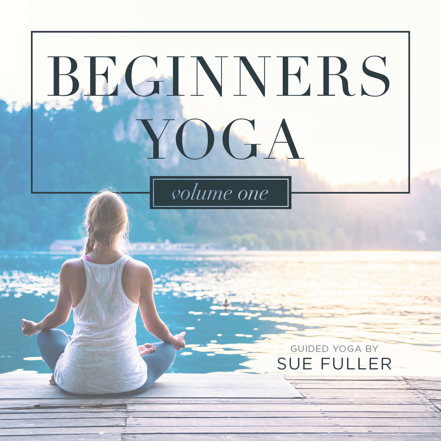 Printable Beginners Yoga, Vol. 1 Audiobook Cover Art