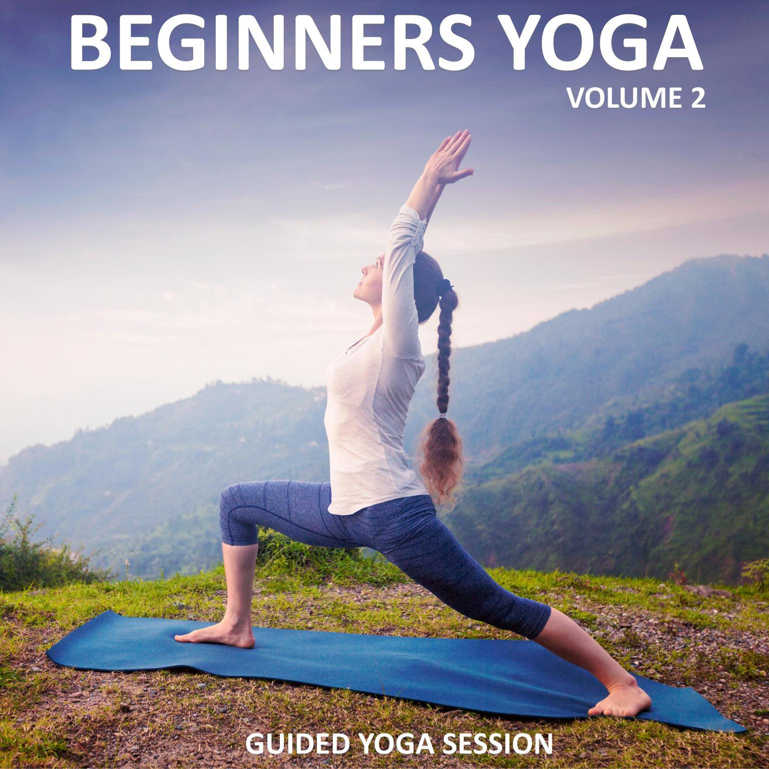 Printable Beginners Yoga, Vol. 2 Audiobook Cover Art