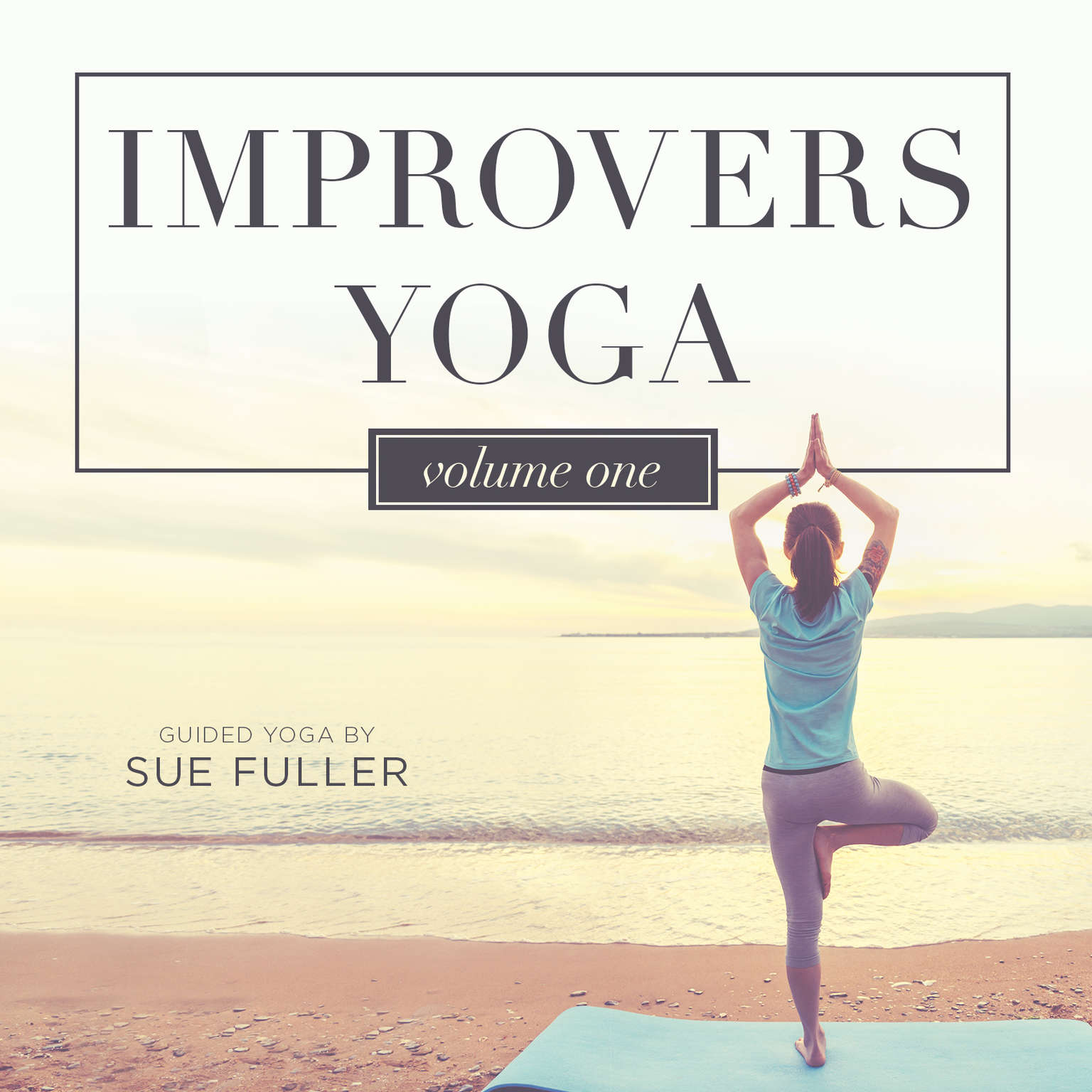 Printable Improvers Yoga Vol 1 Audiobook Cover Art