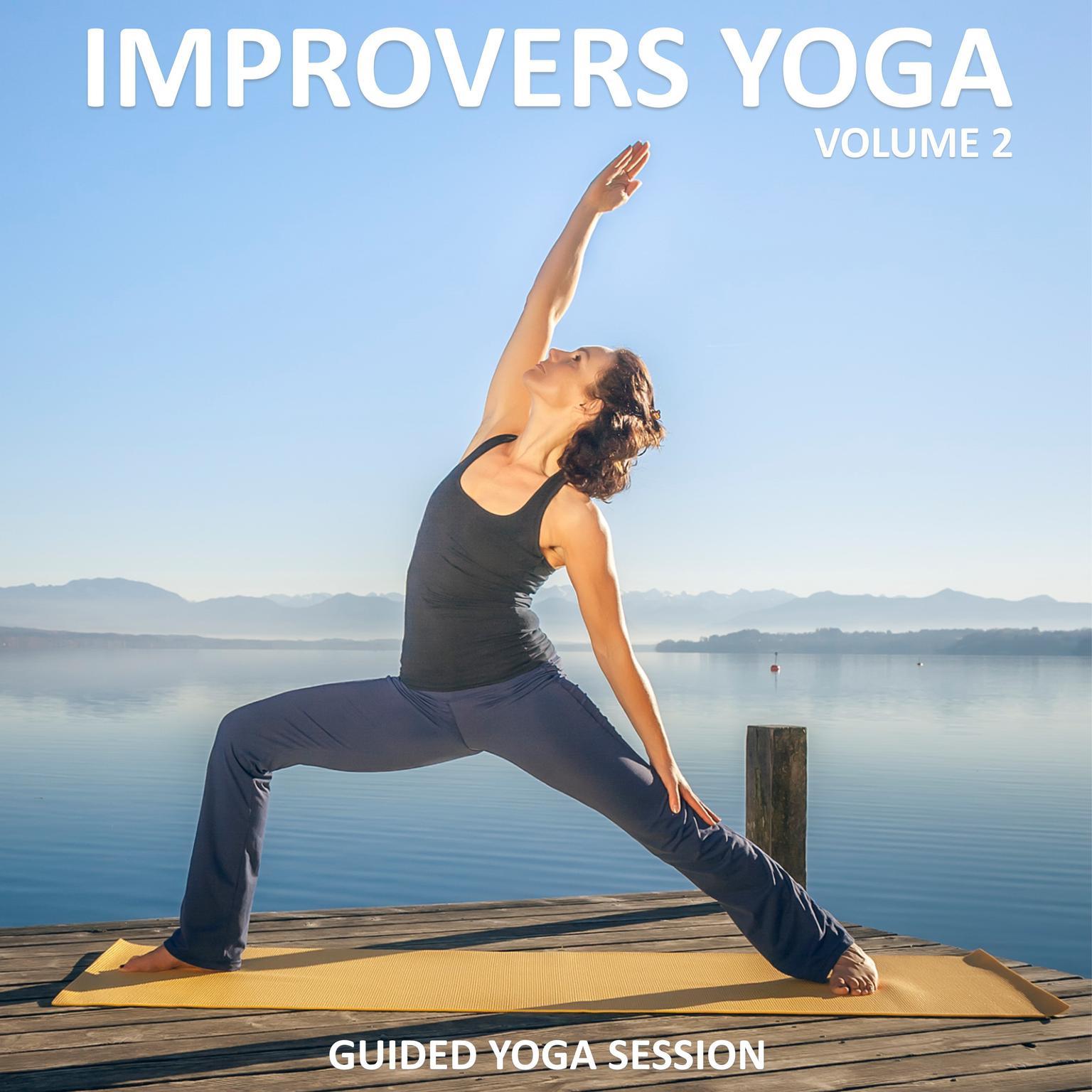 Printable Improvers Yoga, Vol 2 Audiobook Cover Art