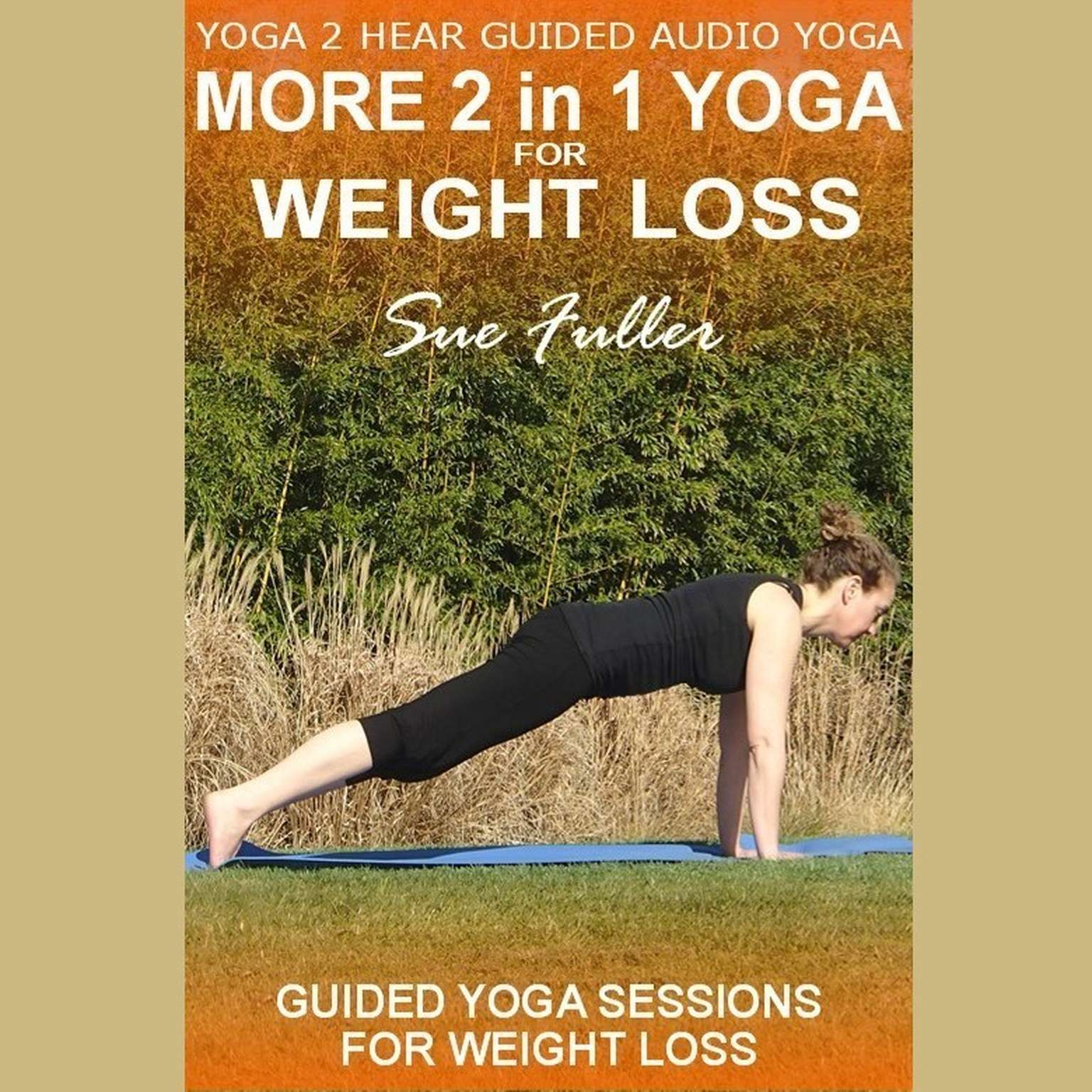 Printable More 2 in 1 Yoga for Weight Loss Audiobook Cover Art