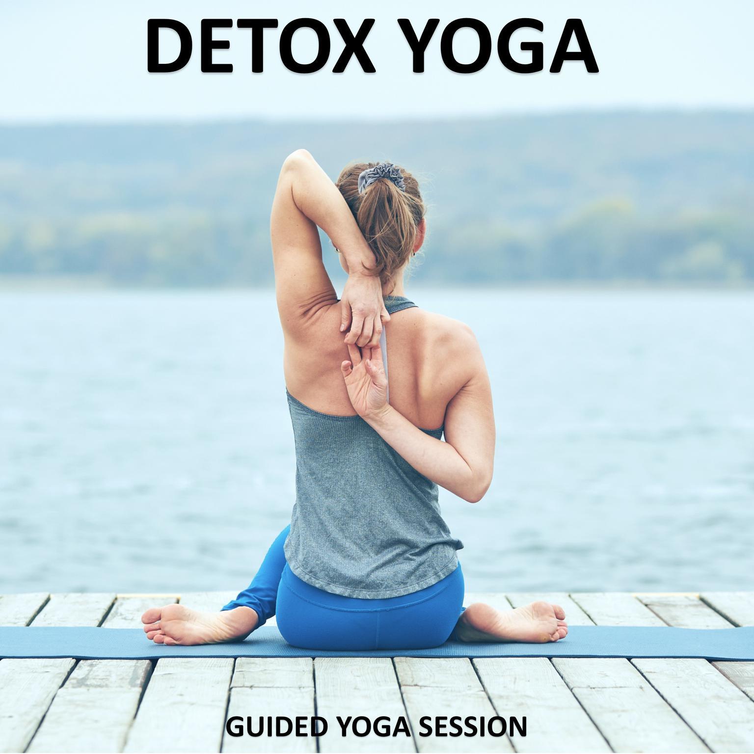 Printable Detox Yoga Audiobook Cover Art
