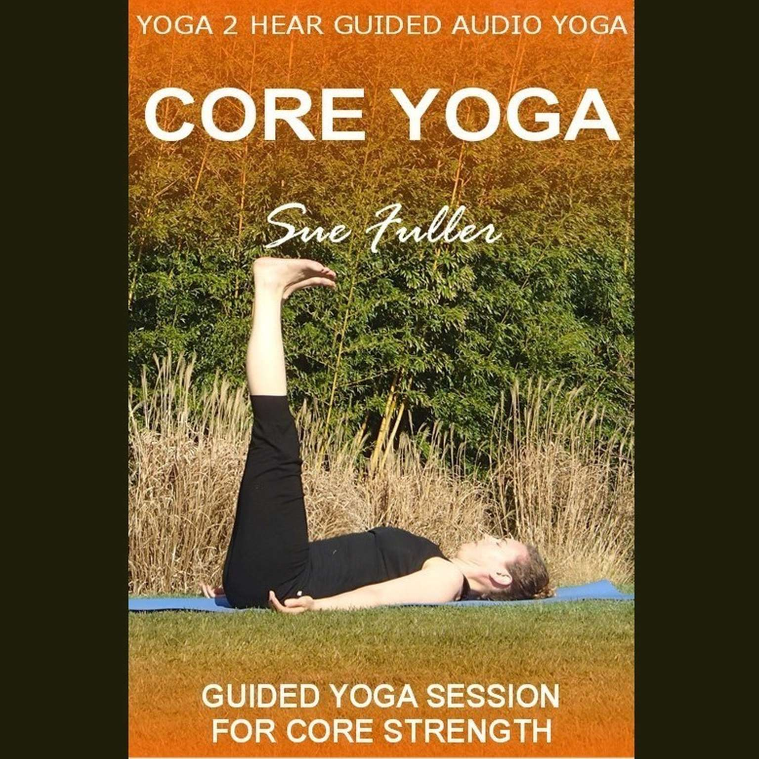 Printable Core Yoga Audiobook Cover Art