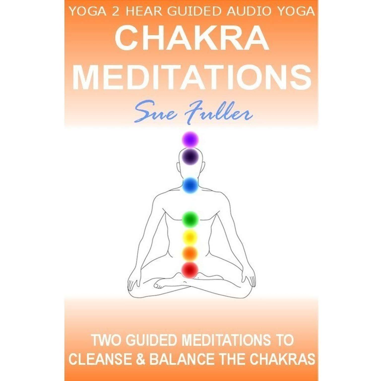 Printable Chakra Meditations Audiobook Cover Art