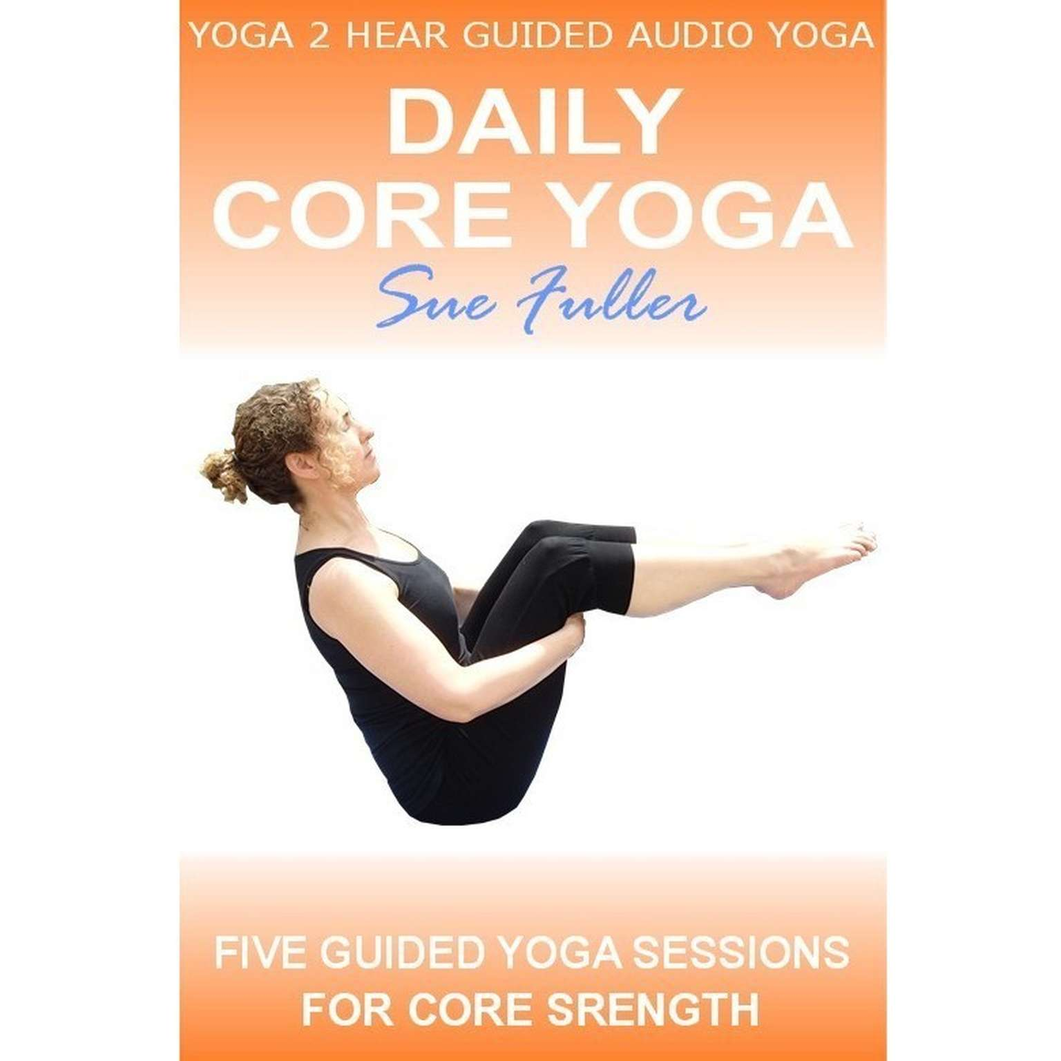 Printable Daily Core Yoga Audiobook Cover Art
