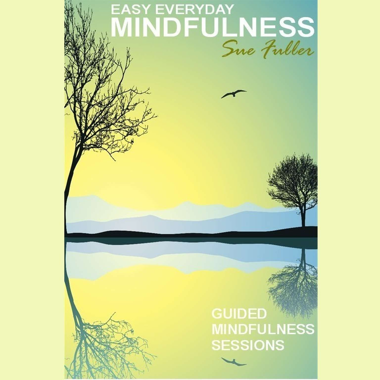 Printable Easy Everyday Mindfulness Audiobook Cover Art