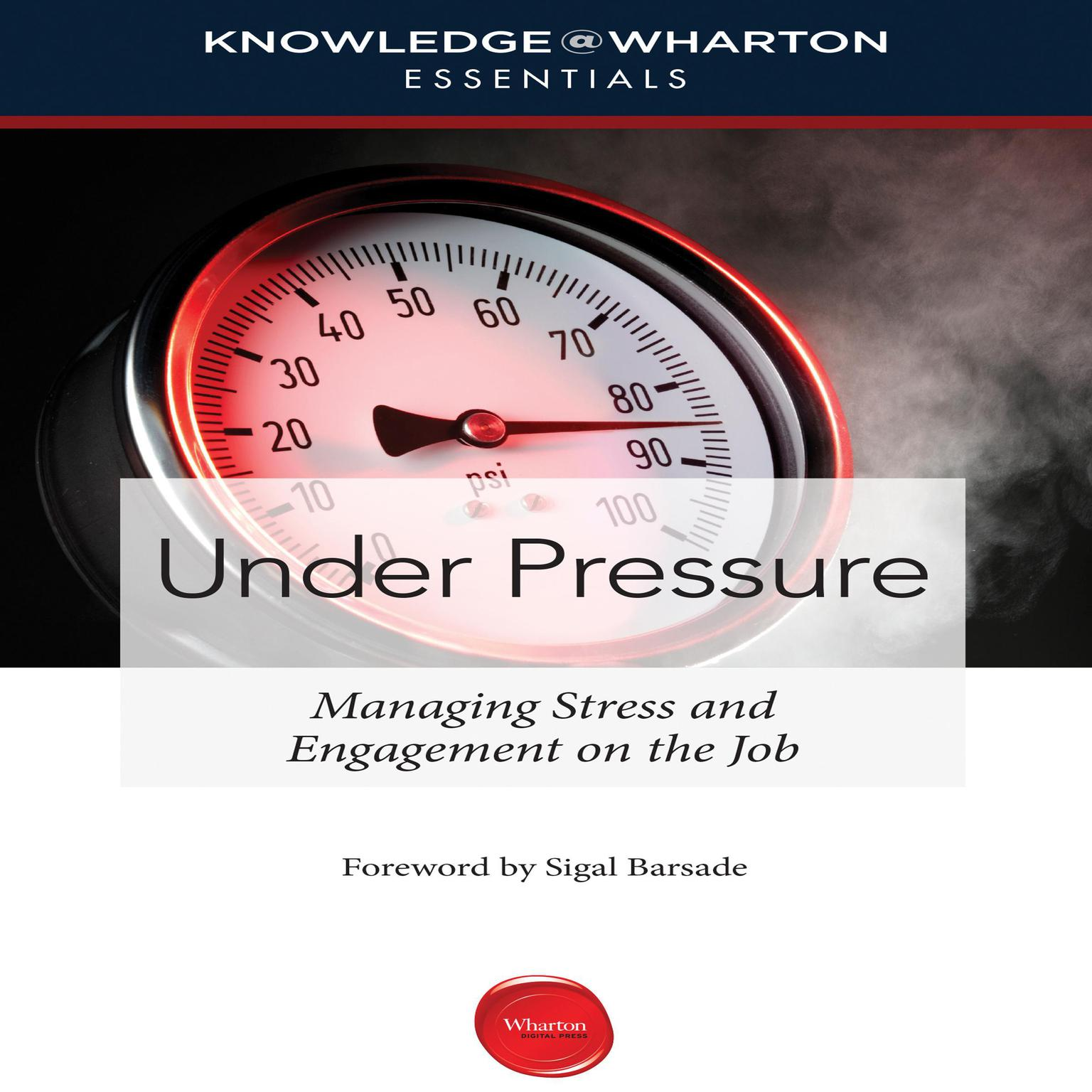Printable Under Pressure: Managing Stress and Engagement on the Job Audiobook Cover Art