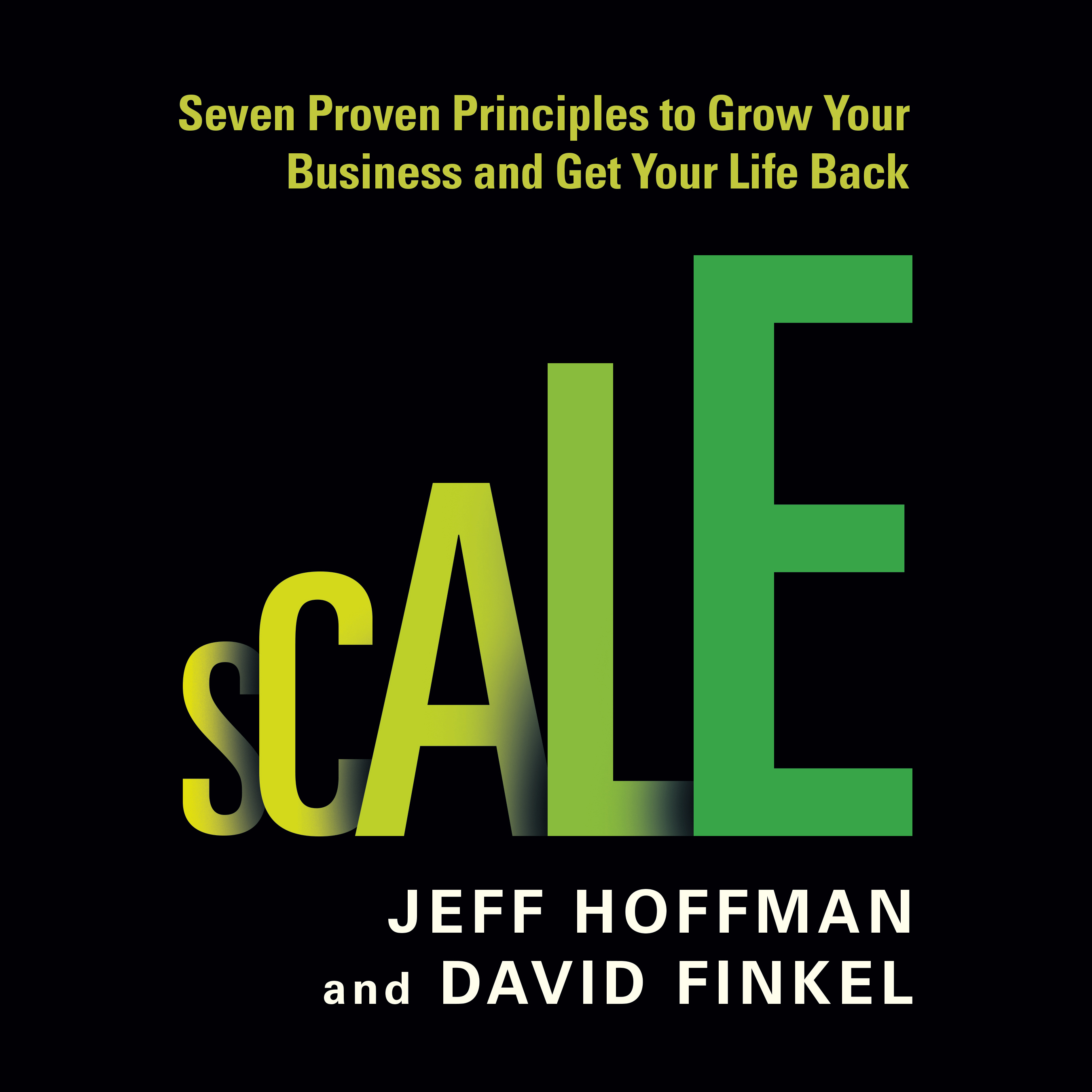 Printable Scale: Seven Proven Principles to Grow Your Business and Get Your Life Back Audiobook Cover Art