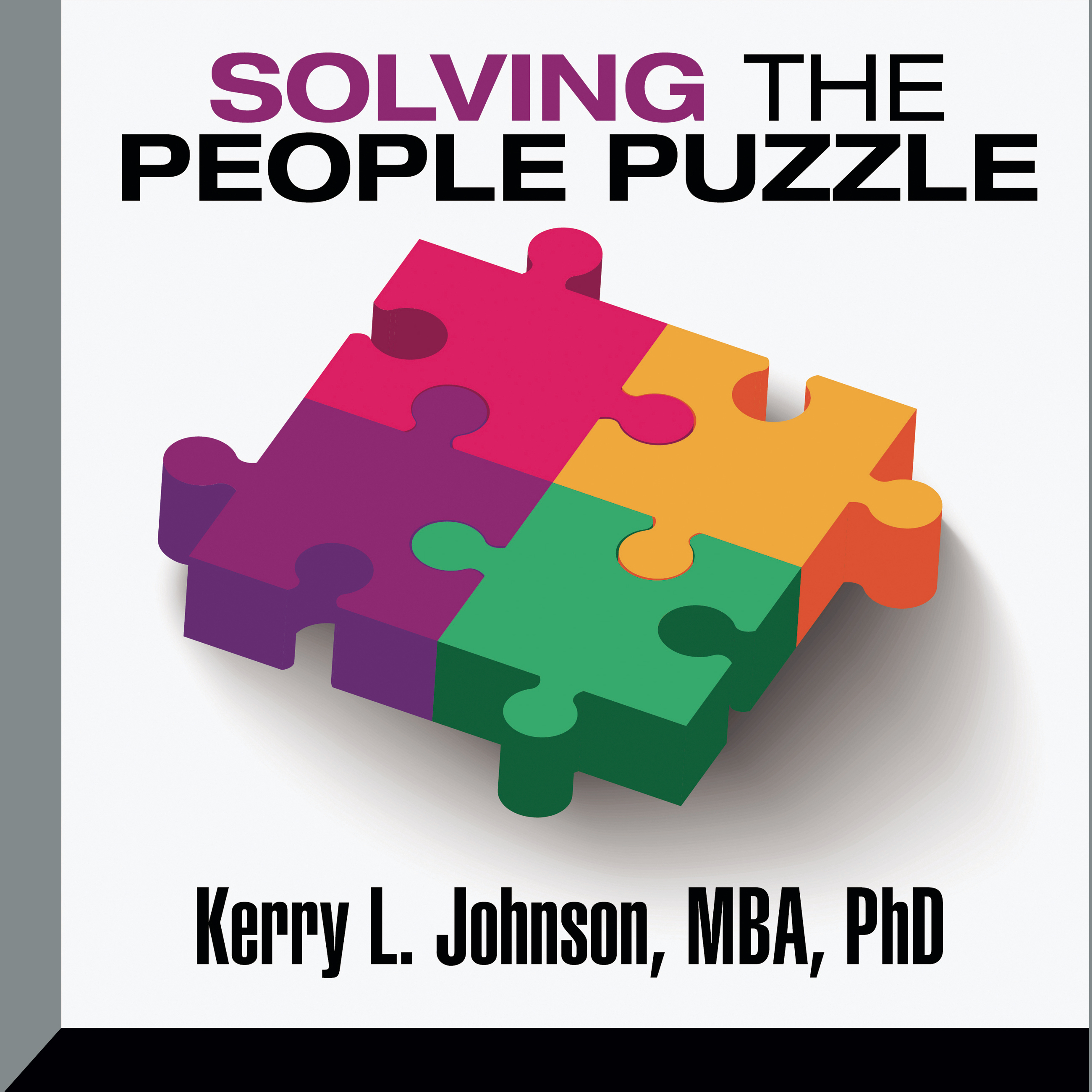 Printable Solving the People Puzzle Audiobook Cover Art