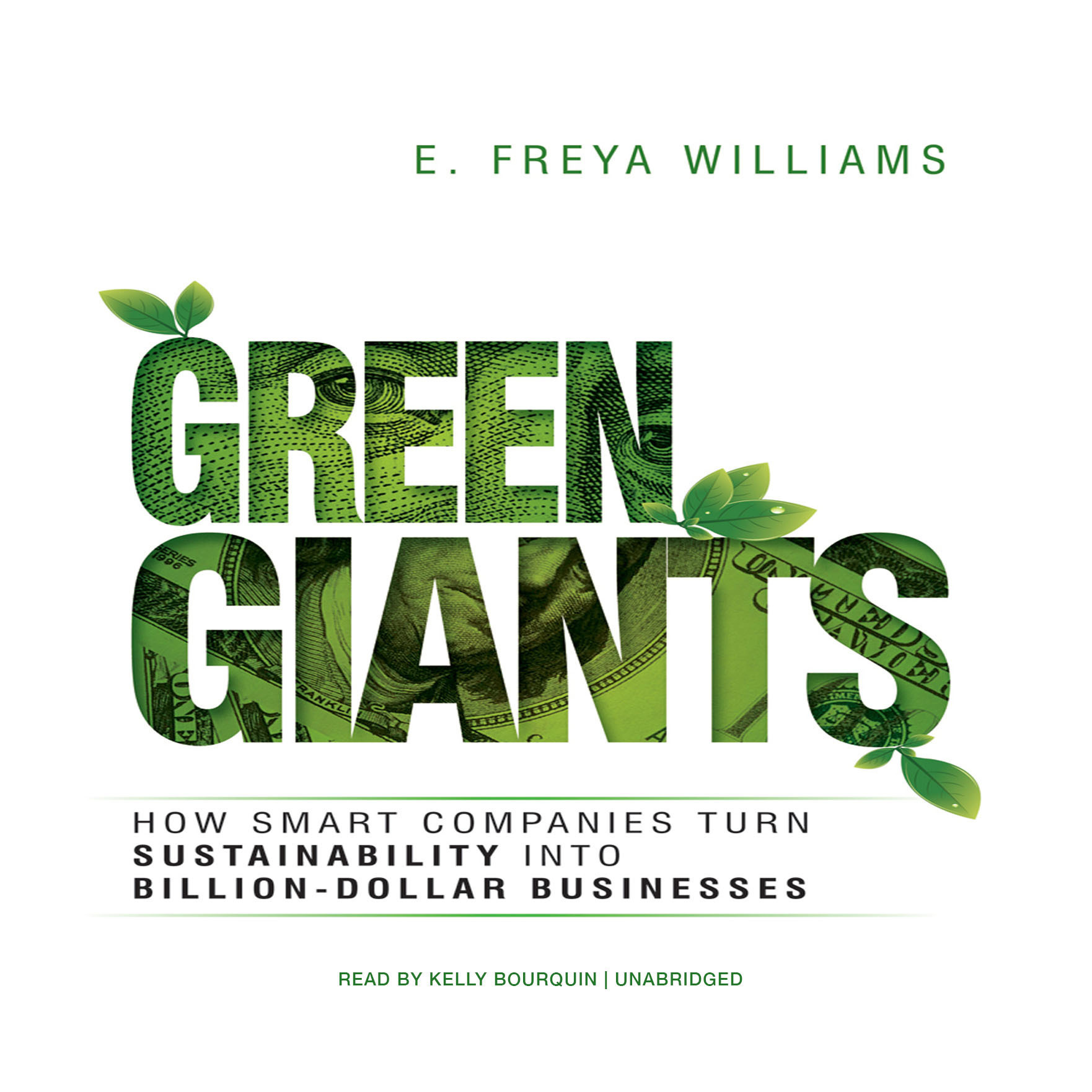 Printable Green Giants: How Smart Companies Turn Sustainability into Billion-Dollar Businesses Audiobook Cover Art