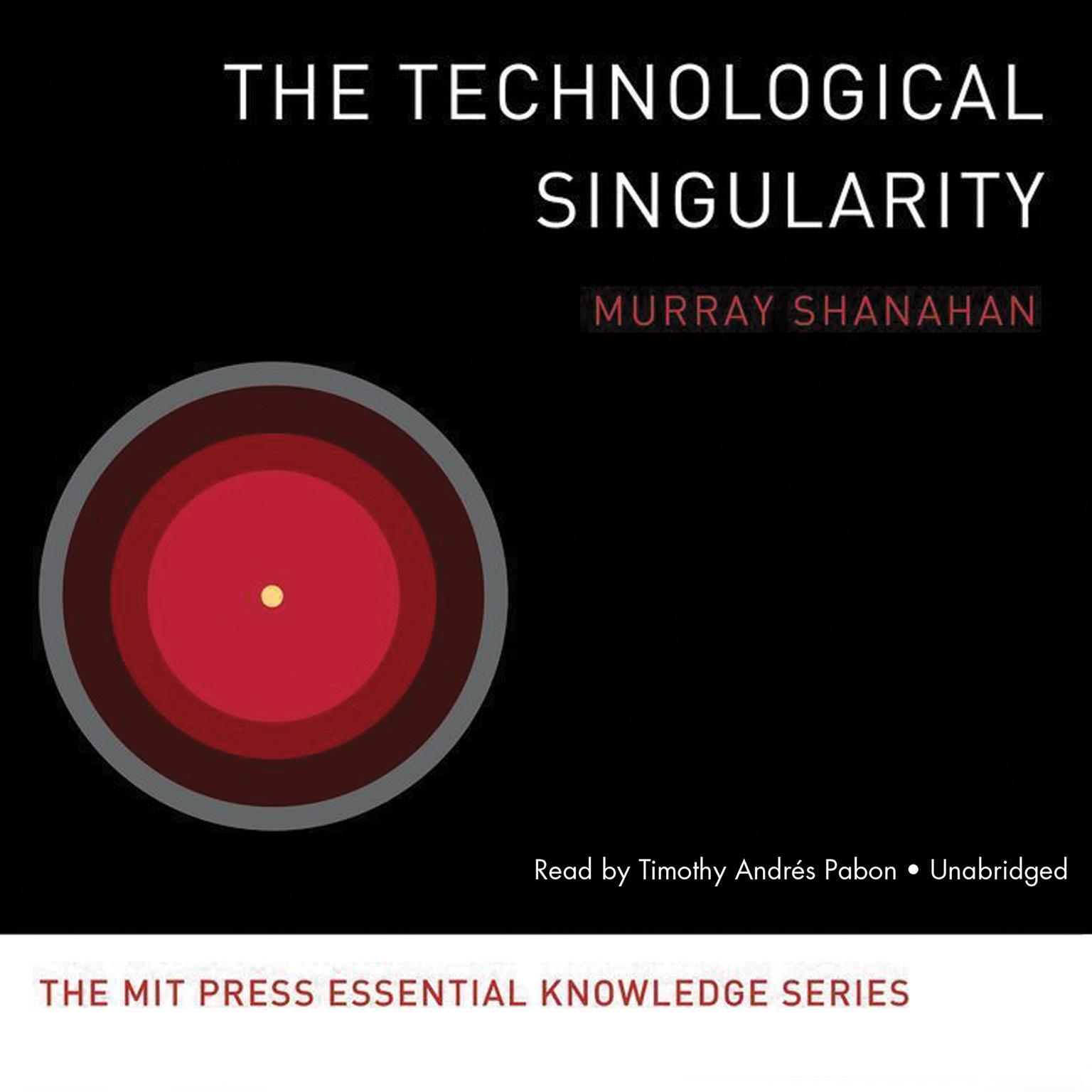 Printable The Technological Singularity Audiobook Cover Art