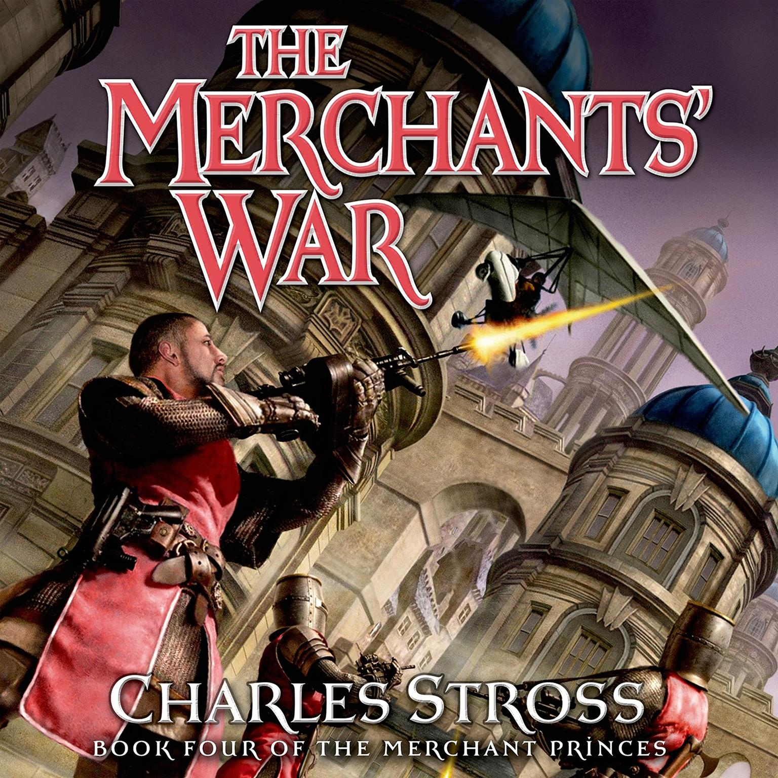 Printable The Merchants' War: Book Four of the Merchant Princes Audiobook Cover Art