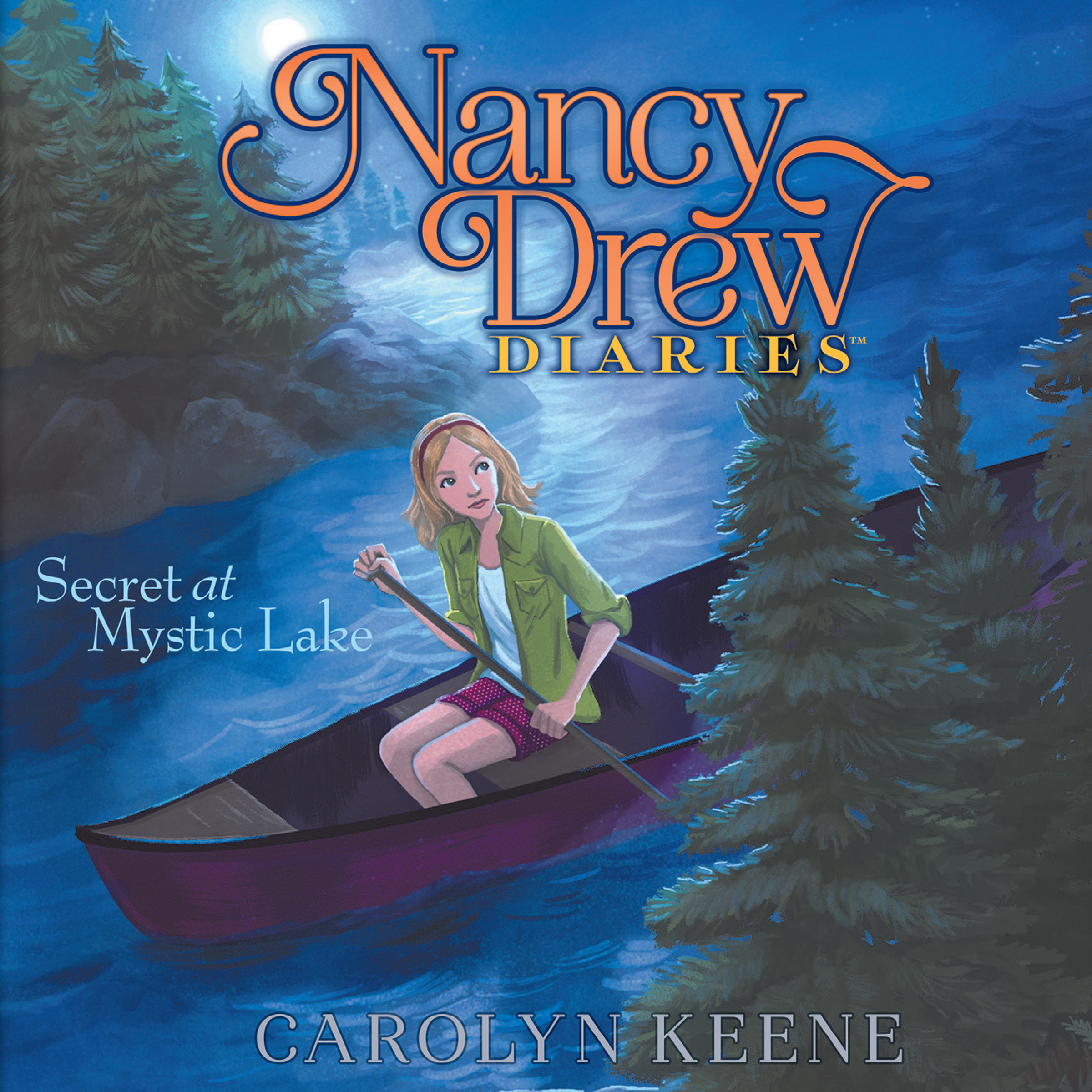 Printable Secret at Mystic Lake Audiobook Cover Art