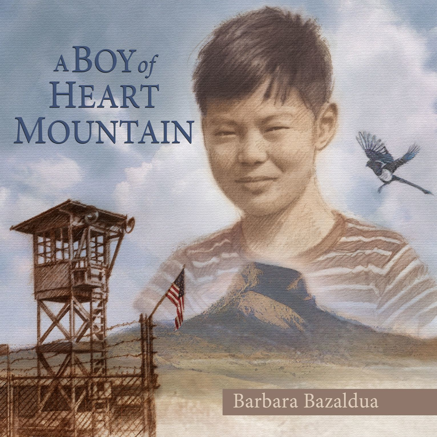 Printable A Boy of Heart Mountain: Based on and Inspired by the Experiences of Shigeru Yabu Audiobook Cover Art