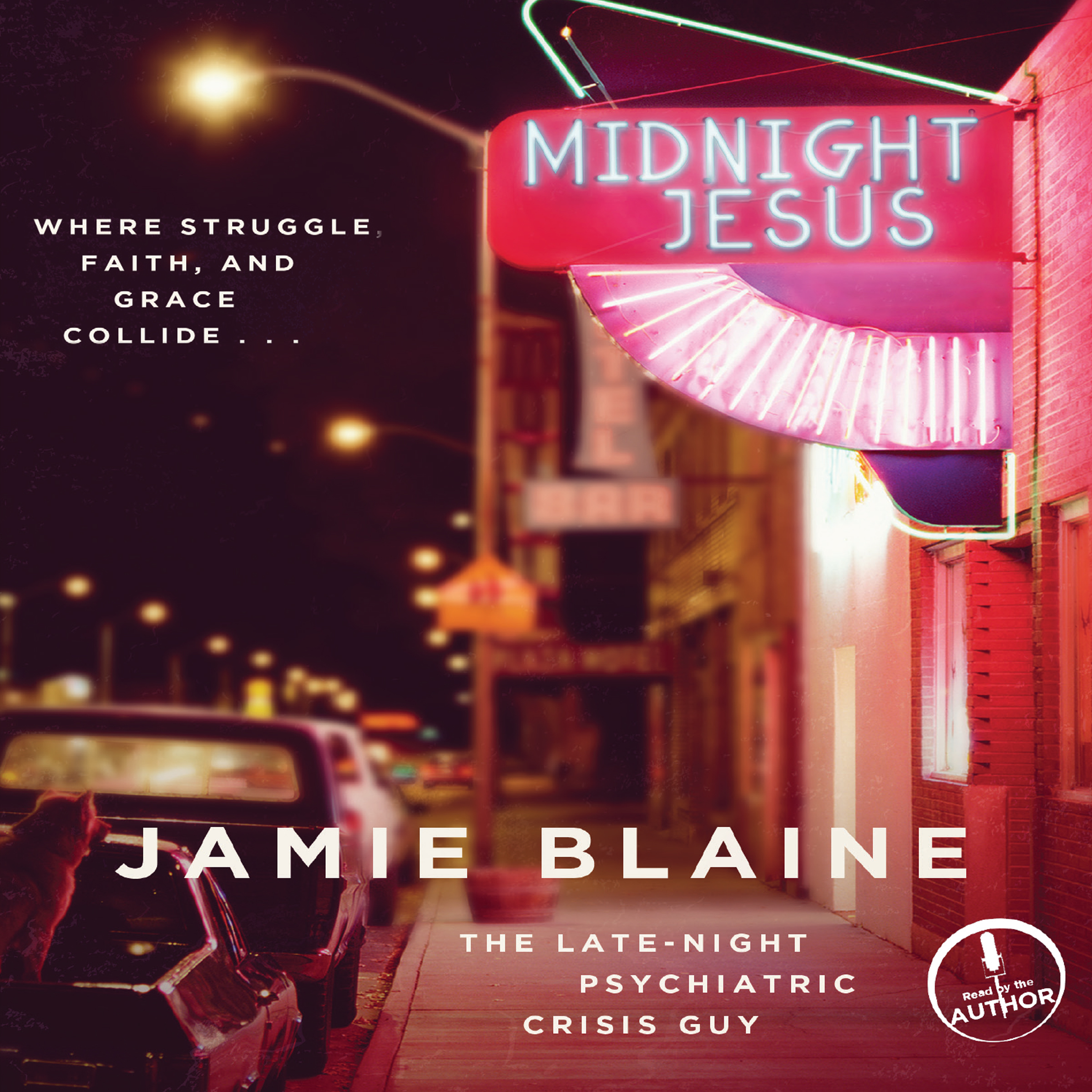 Printable Midnight Jesus: Where Struggle, Faith, and Grace Collide … Audiobook Cover Art
