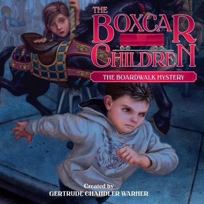 The Boardwalk Mystery Audiobook, by Gertrude Chandler Warner