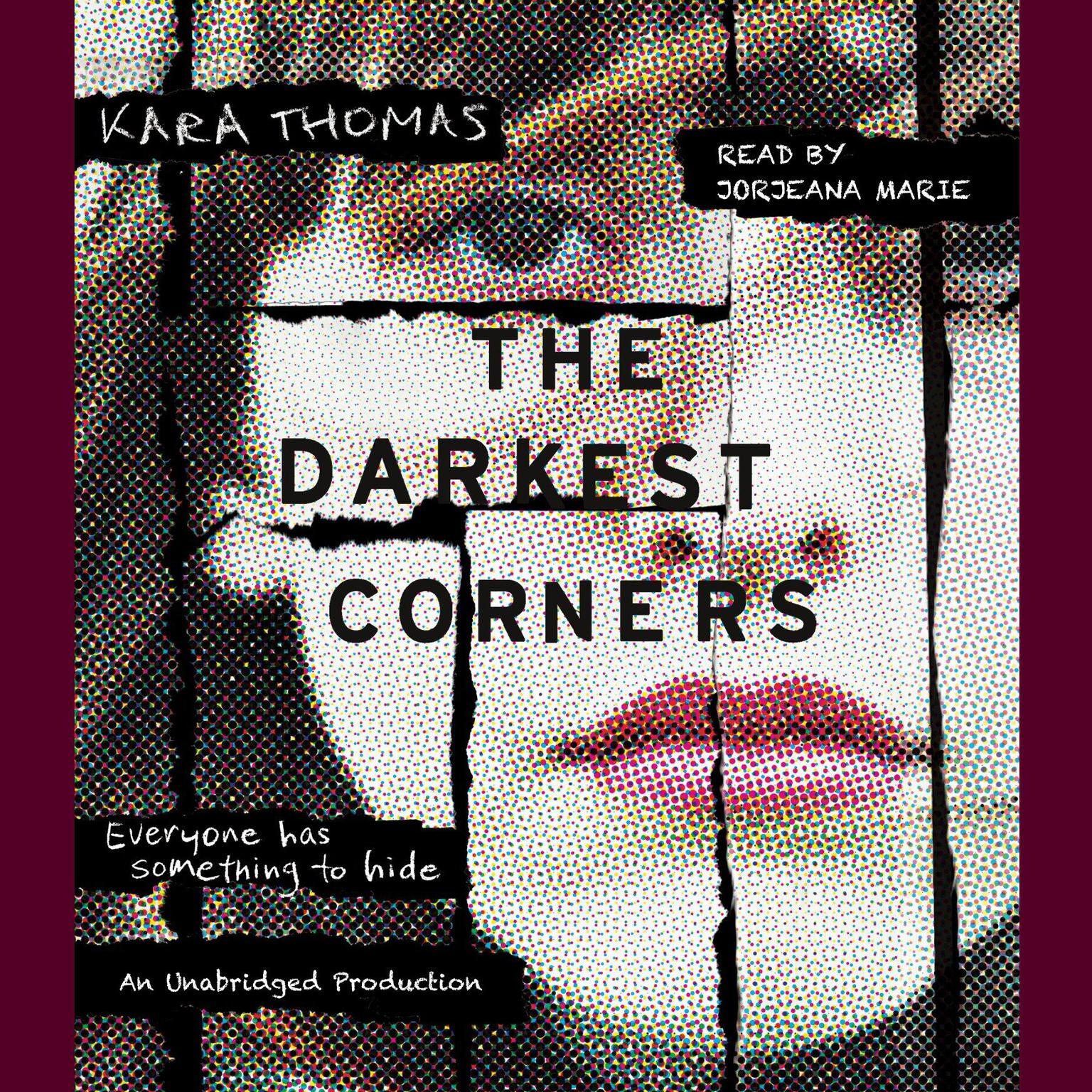Printable The Darkest Corners Audiobook Cover Art