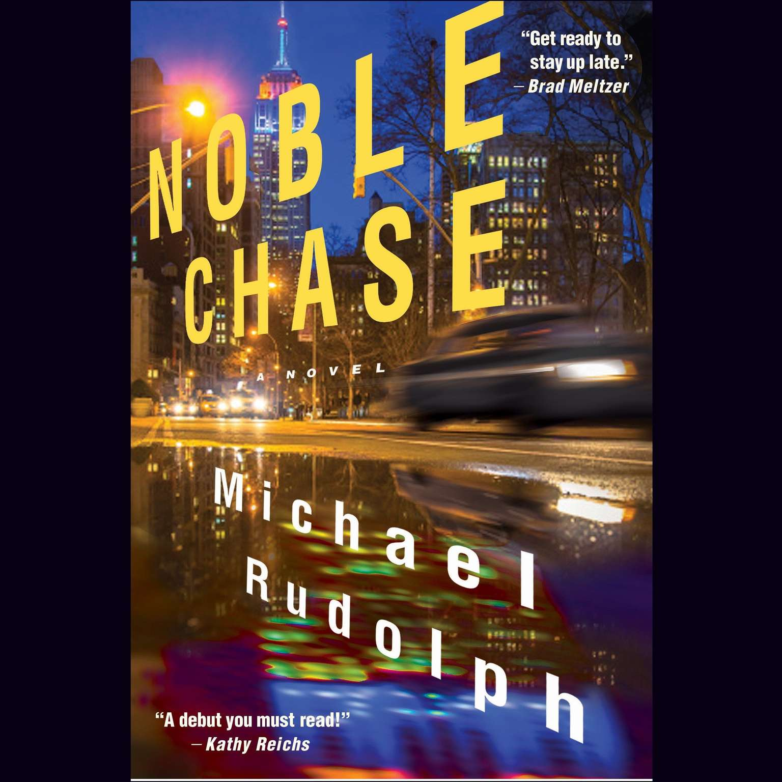 Printable Noble Chase: A Novel Audiobook Cover Art