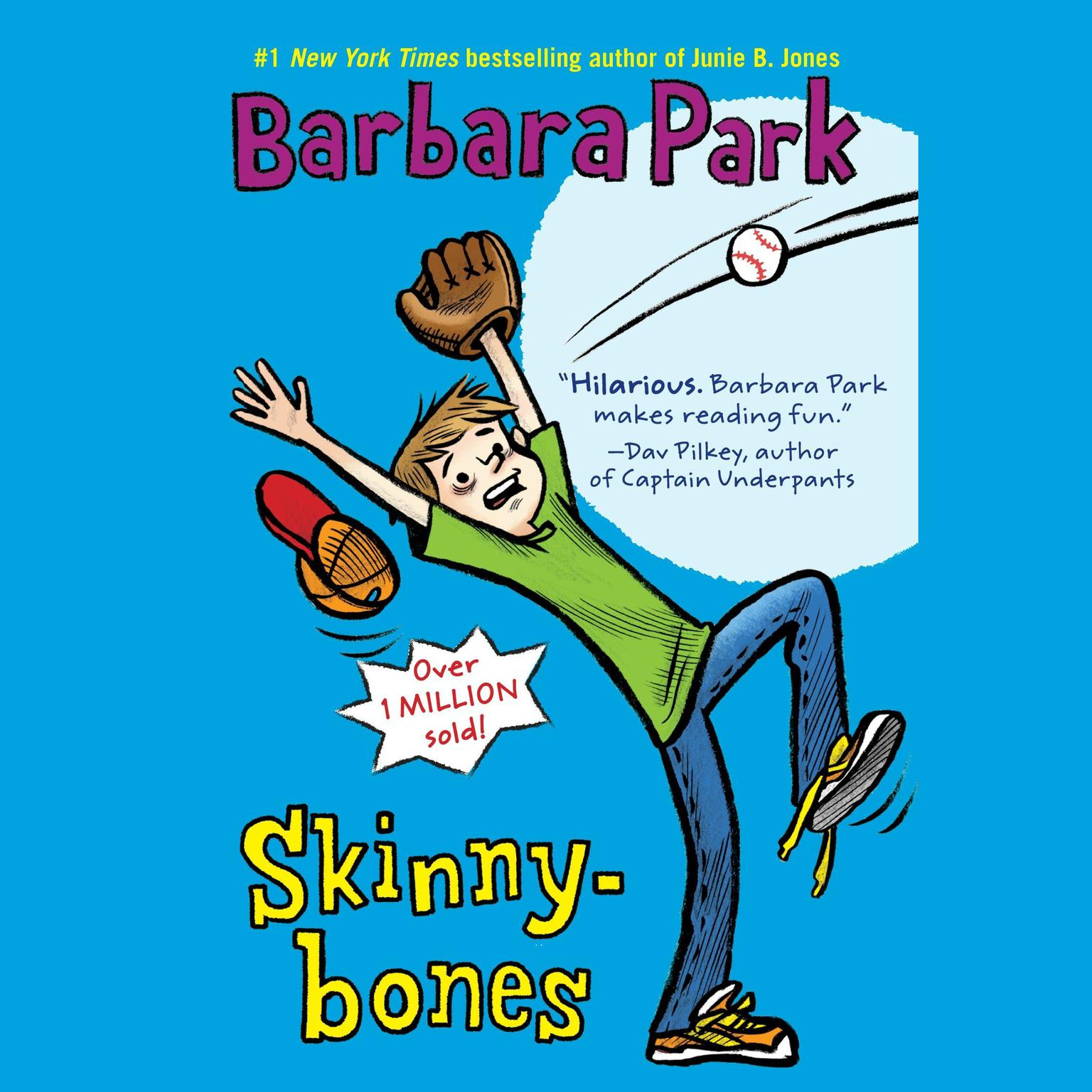 Printable Skinnybones Audiobook Cover Art