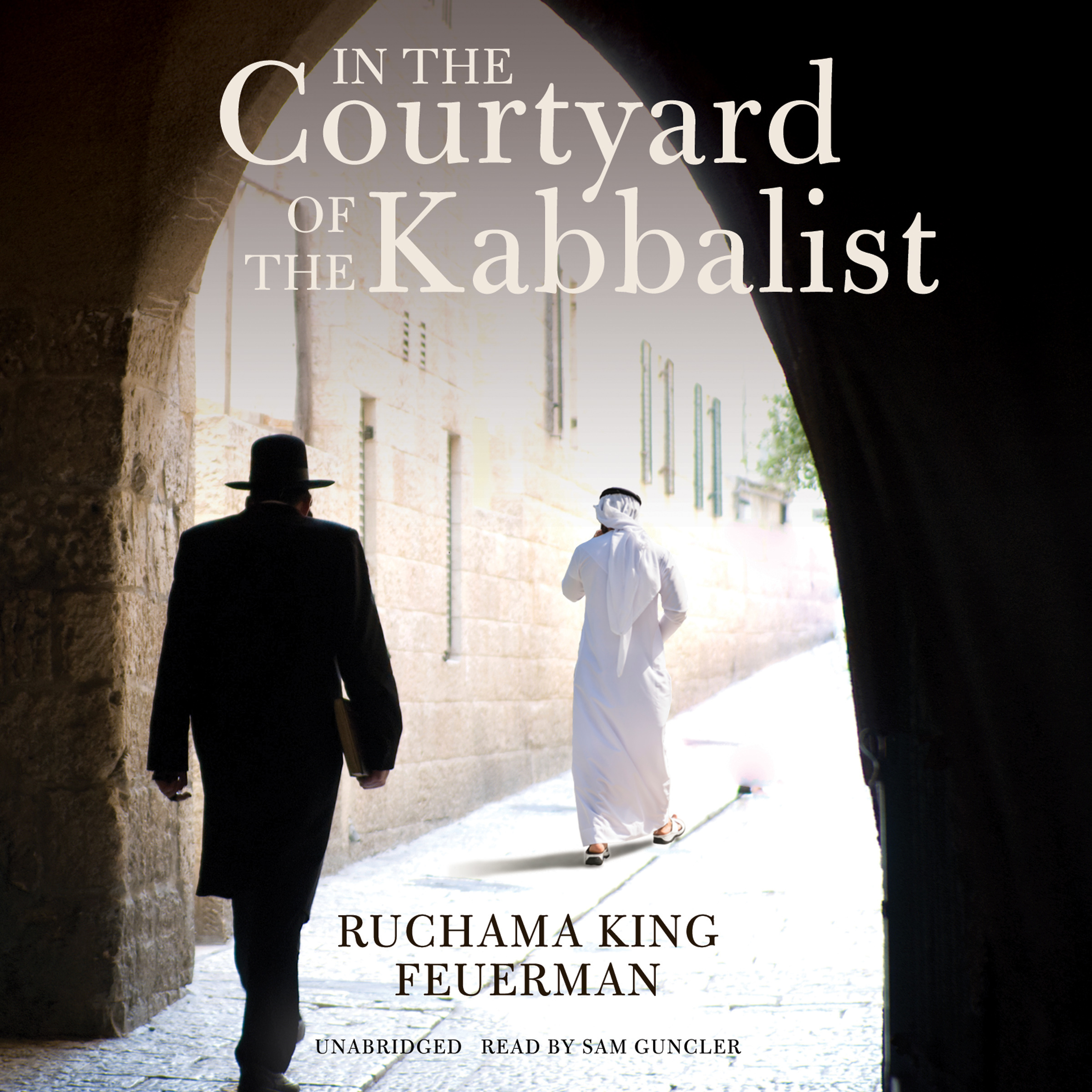 Printable In the Courtyard of the Kabbalist Audiobook Cover Art
