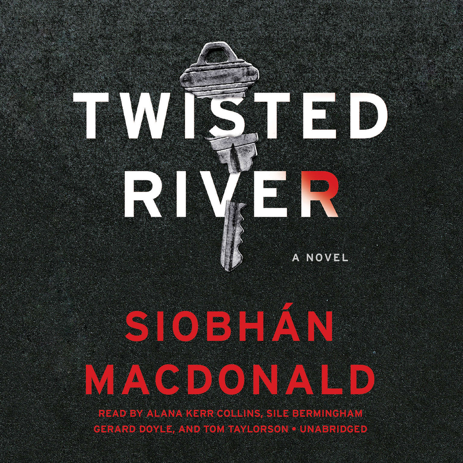 Printable Twisted River Audiobook Cover Art