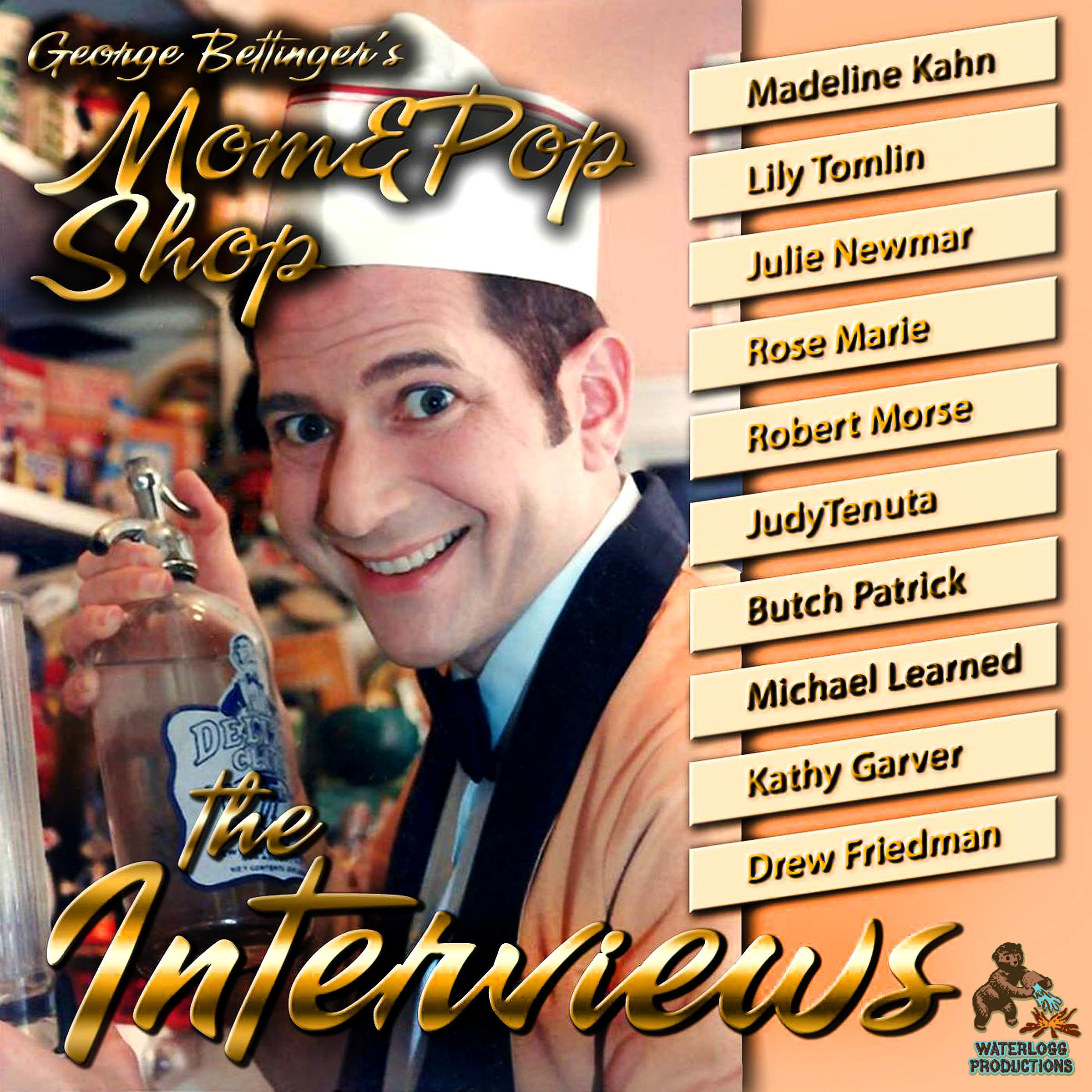 Printable George Bettinger's Mom & Pop Shop: The Interviews Audiobook Cover Art