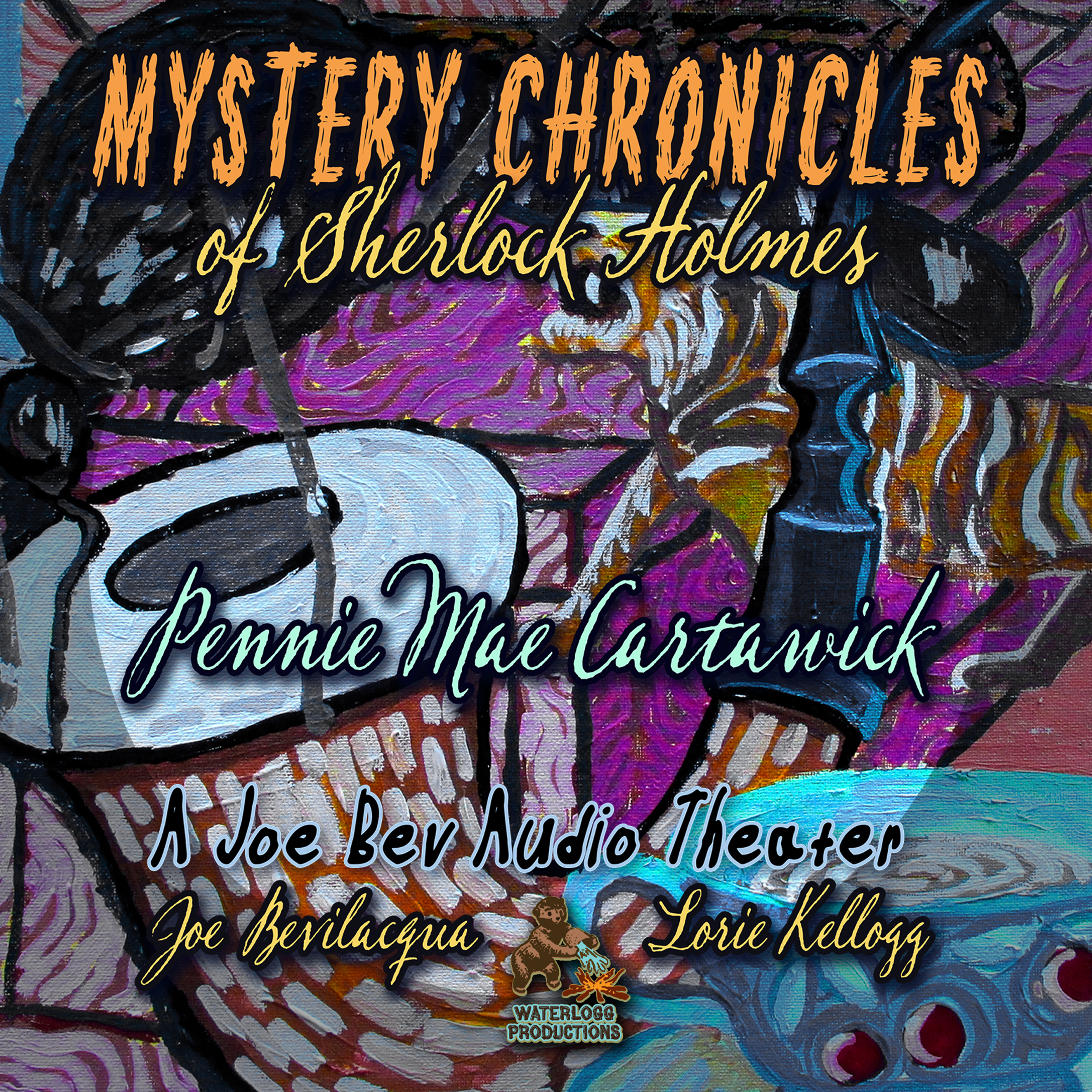 Printable Mystery Chronicles of Sherlock Holmes, Extended Edition: A Quintet Collection of Short Stories Audiobook Cover Art