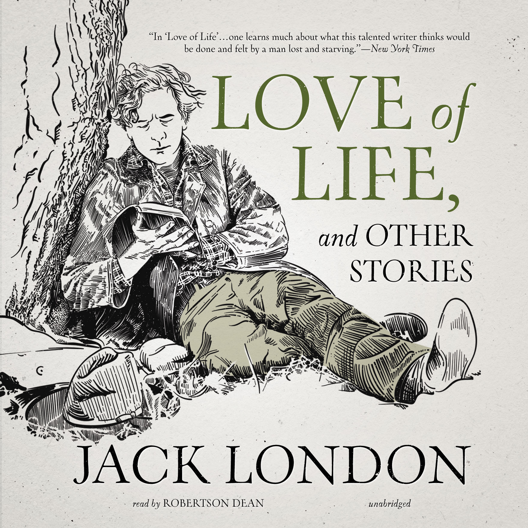 Printable Love of Life, and Other Stories Audiobook Cover Art