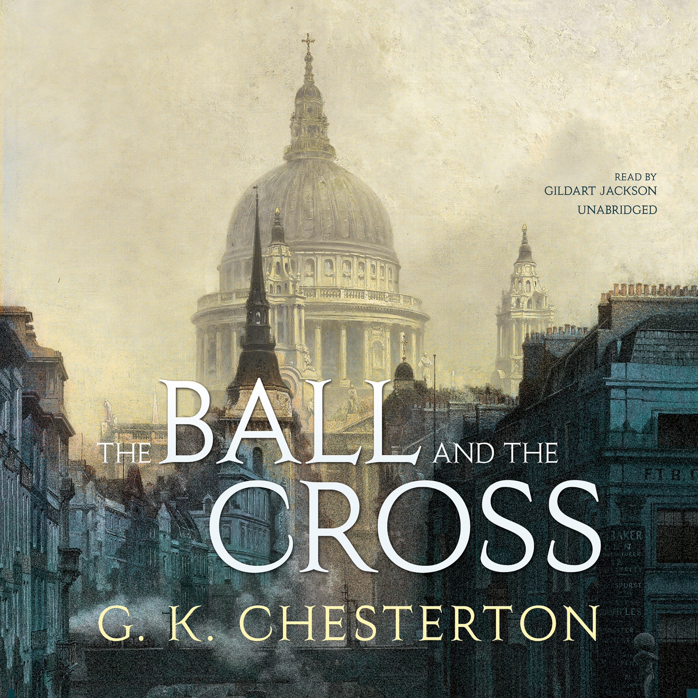 Printable The Ball and the Cross Audiobook Cover Art