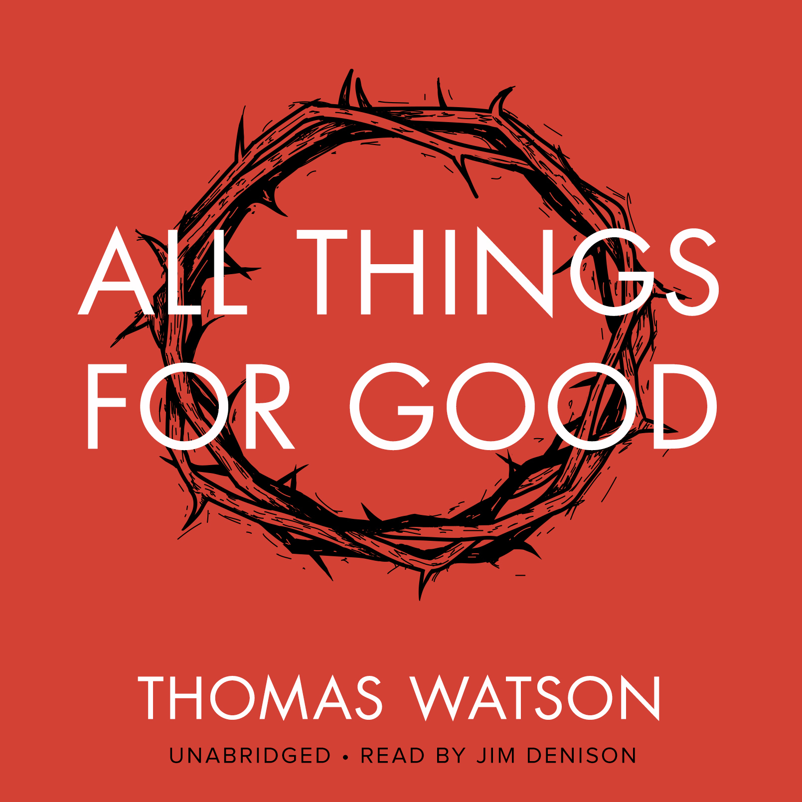 Printable All Things for Good Audiobook Cover Art