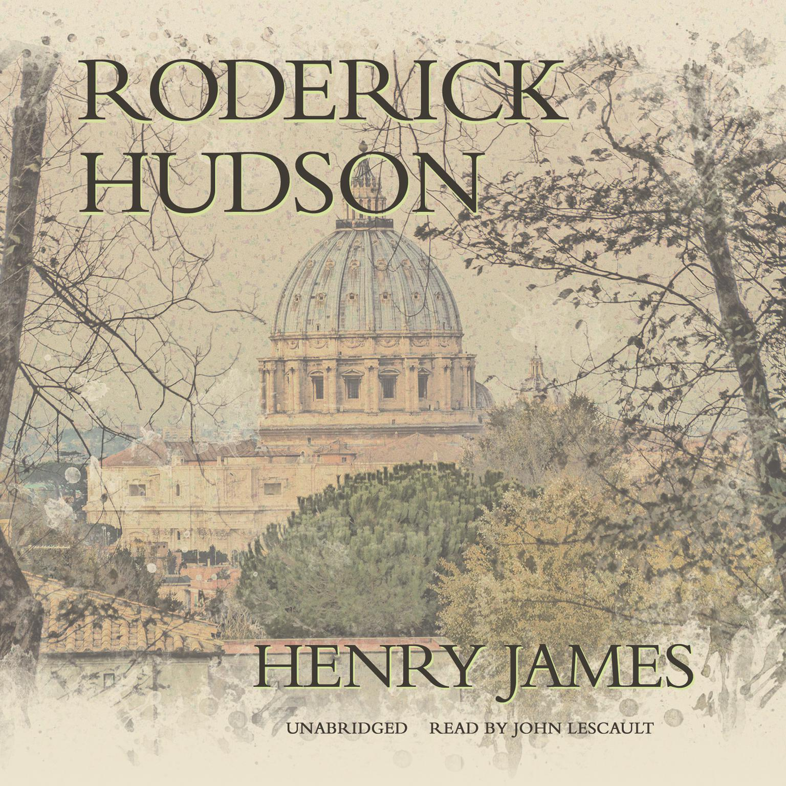 Printable Roderick Hudson Audiobook Cover Art