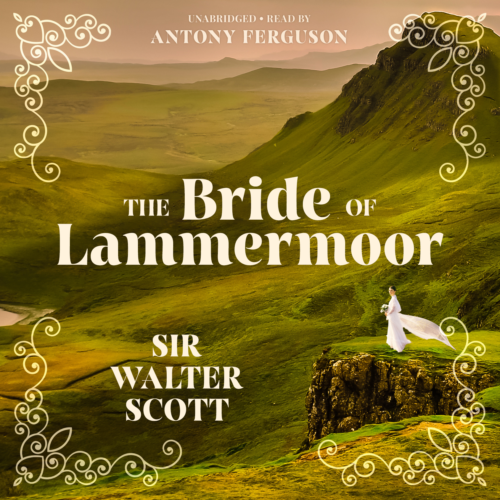 Printable The Bride of Lammermoor Audiobook Cover Art