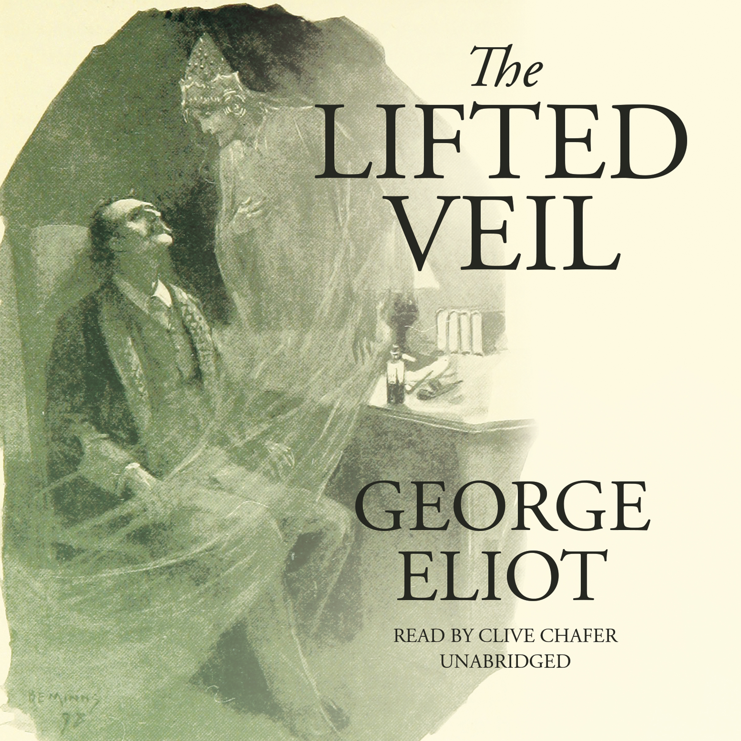 Printable The Lifted Veil Audiobook Cover Art