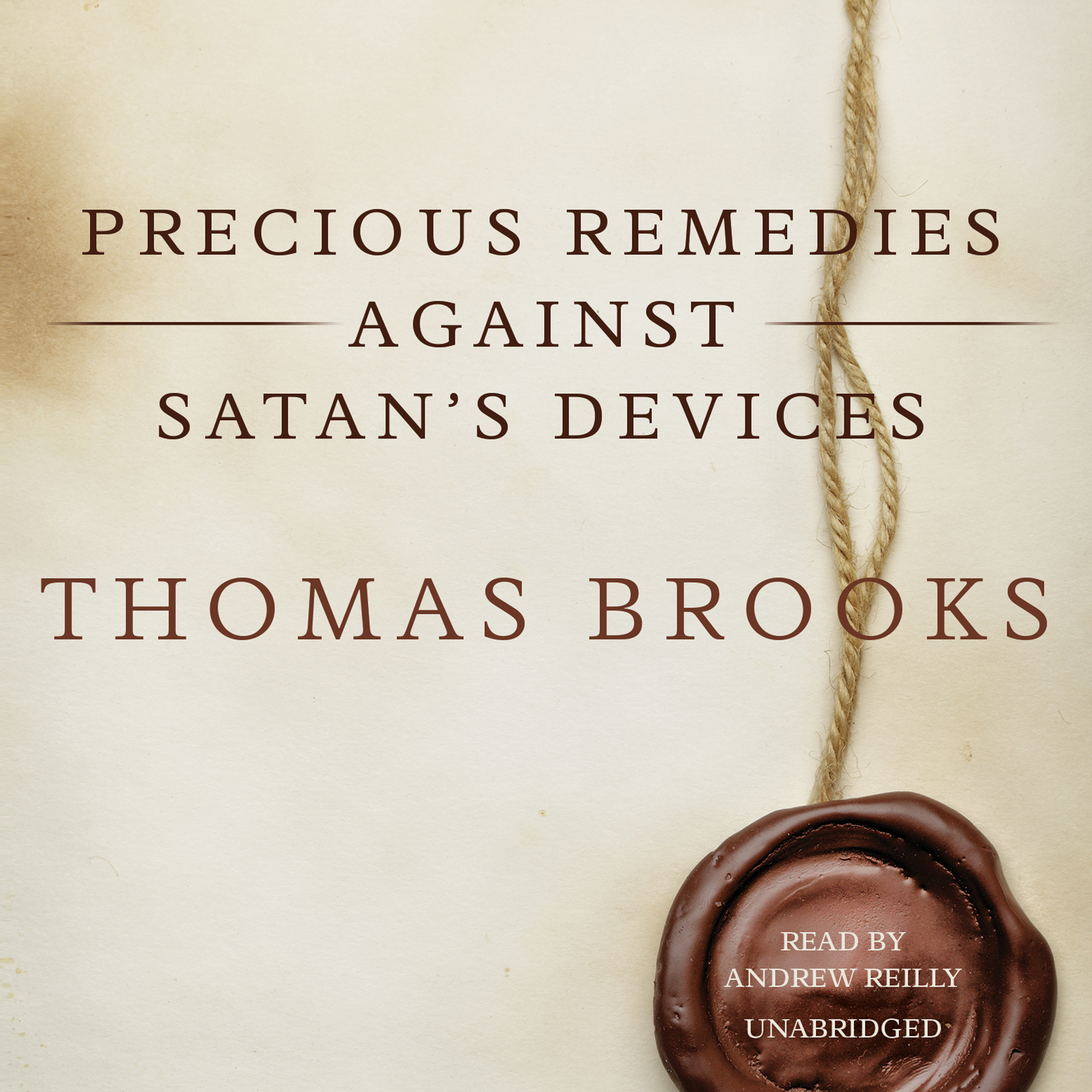 Printable Precious Remedies against Satan's Devices Audiobook Cover Art
