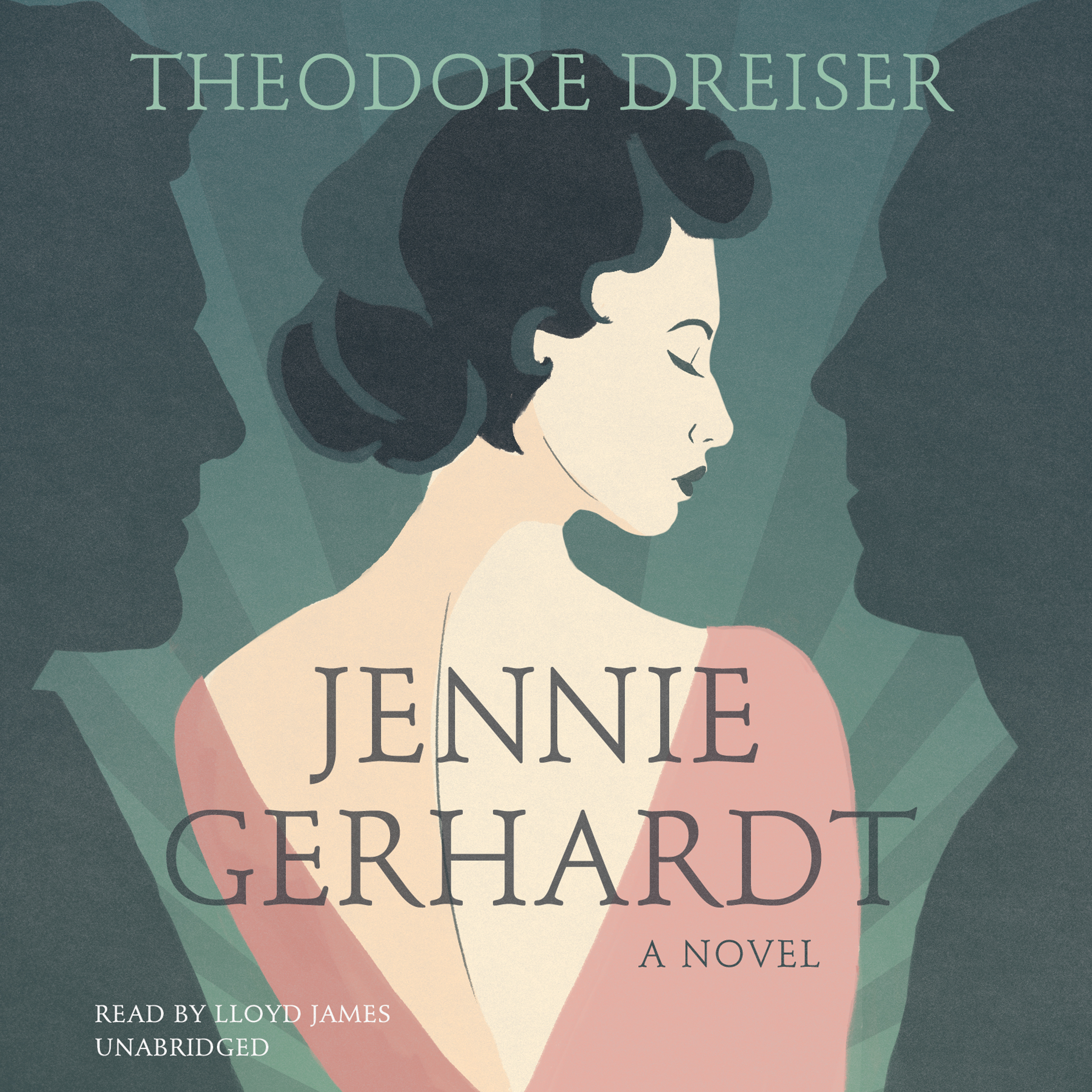 Printable Jennie Gerhardt: A Novel Audiobook Cover Art