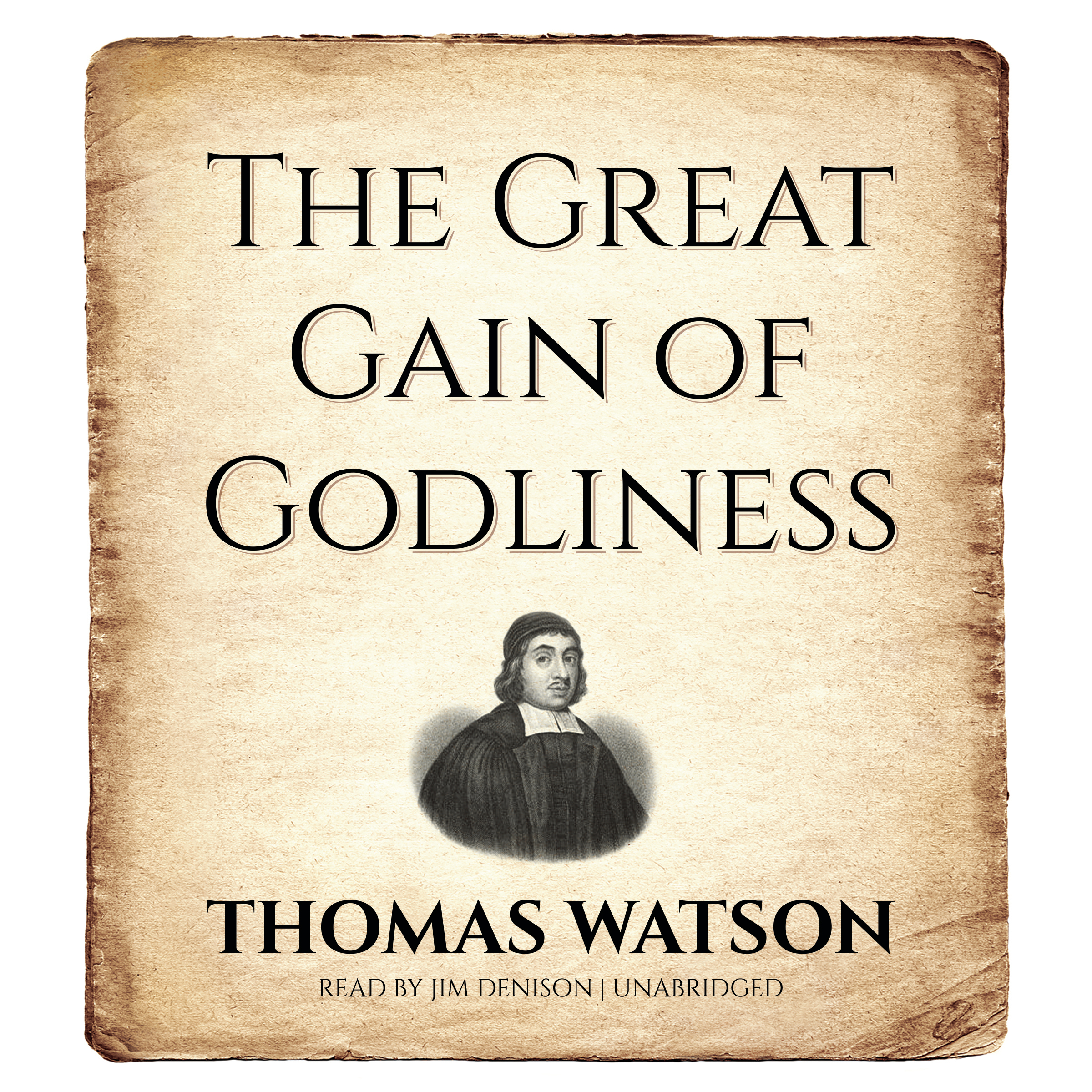 Printable The Great Gain of Godliness Audiobook Cover Art