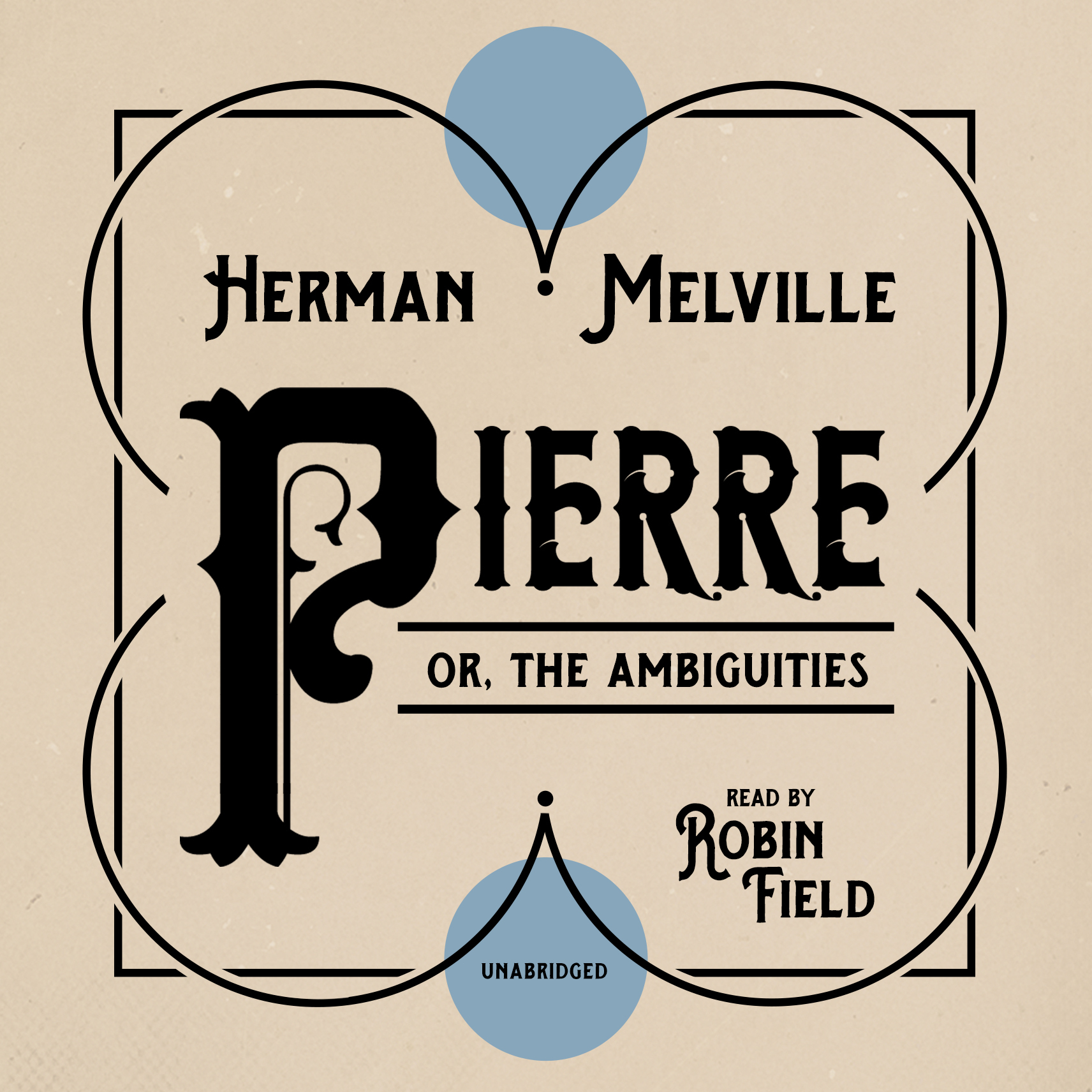 Printable Pierre: or, The Ambiguities Audiobook Cover Art