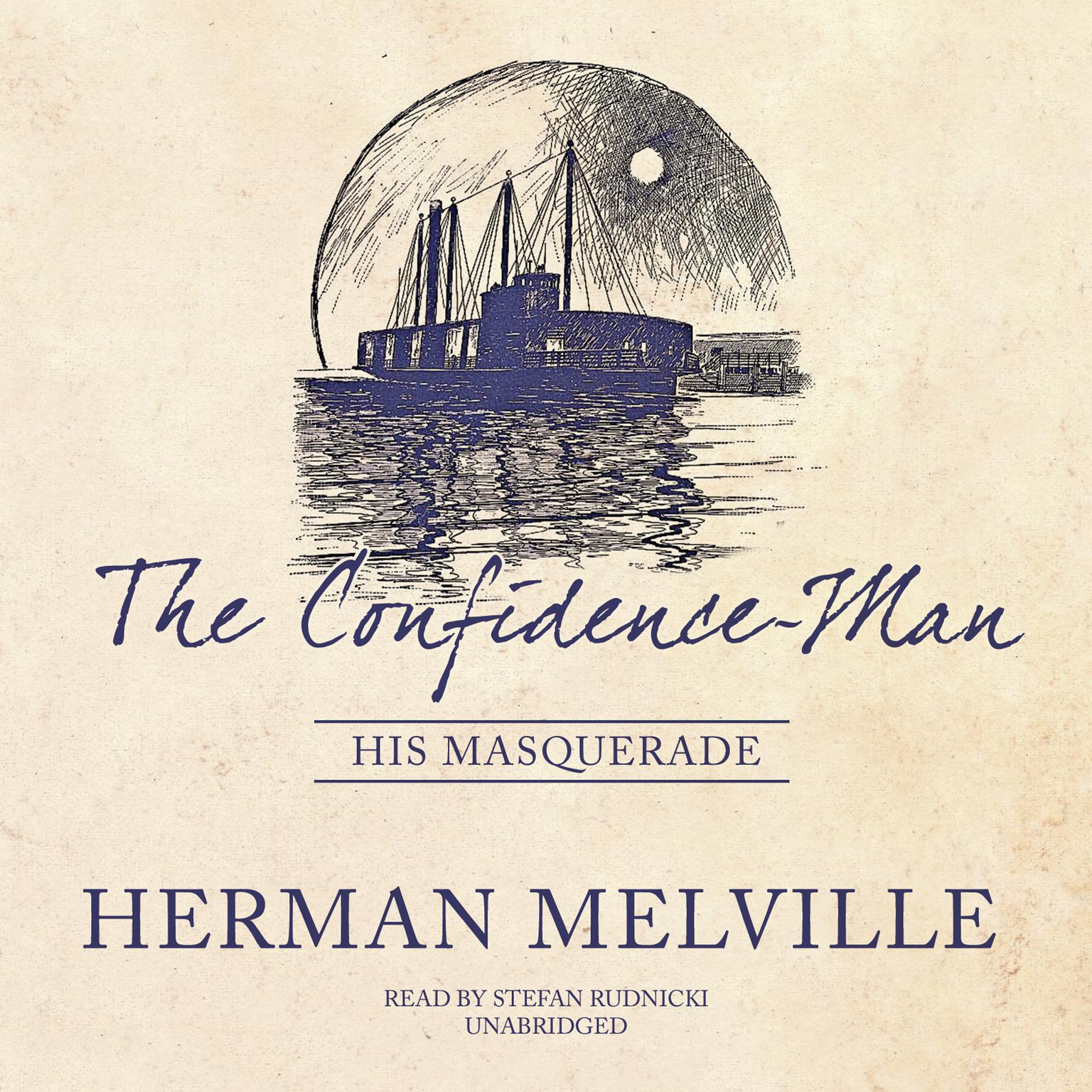 Printable The Confidence-Man: His Masquerade Audiobook Cover Art