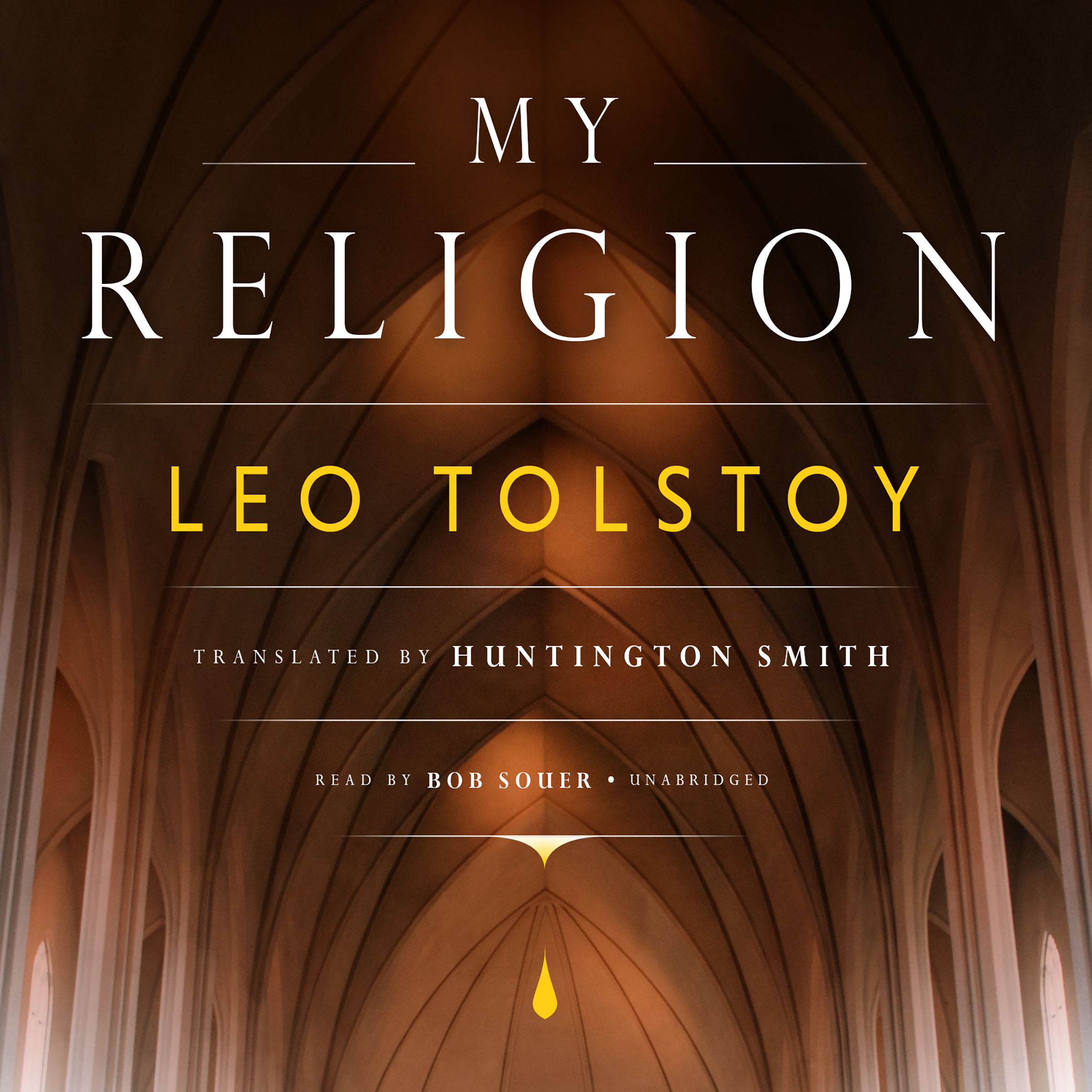 Printable My Religion Audiobook Cover Art